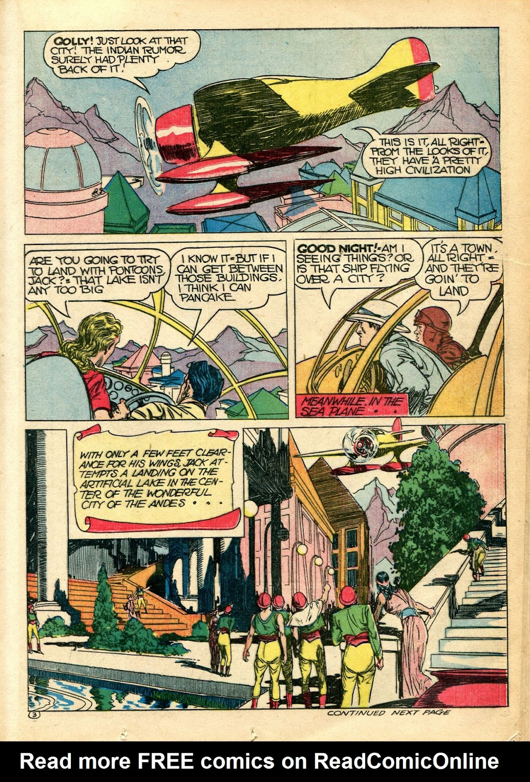 Read online Famous Funnies comic -  Issue #110 - 31