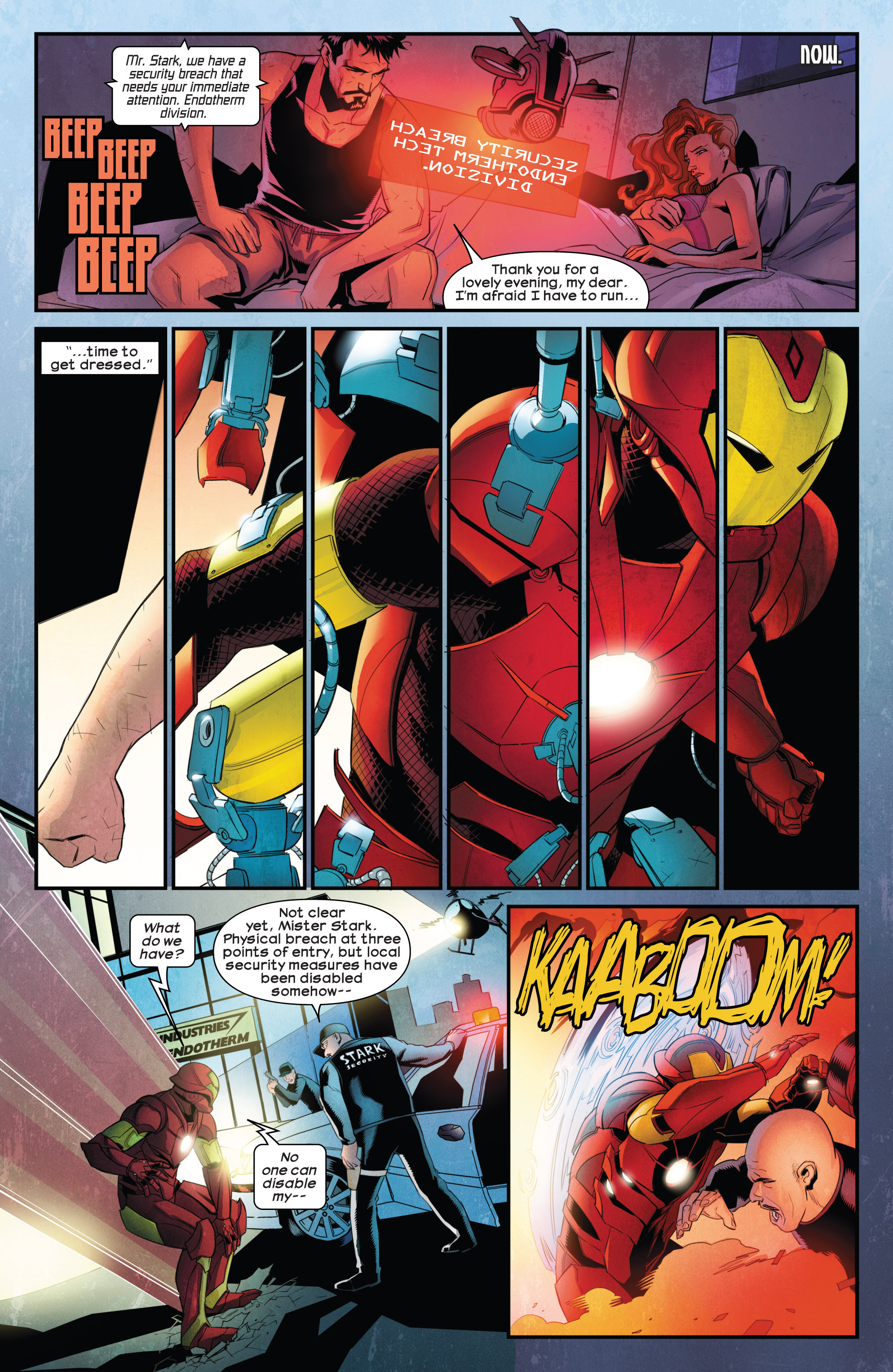 Read online Ultimate Comics Iron Man comic -  Issue #1 - 17