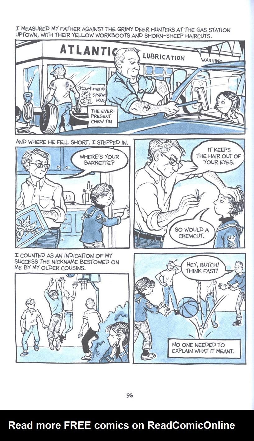 Read online Fun Home: A Family Tragicomic comic -  Issue # TPB - 103