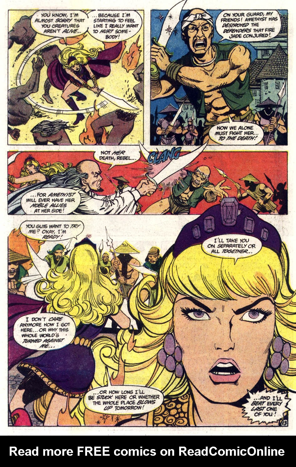 Read online Amethyst (1985) comic -  Issue #3 - 14