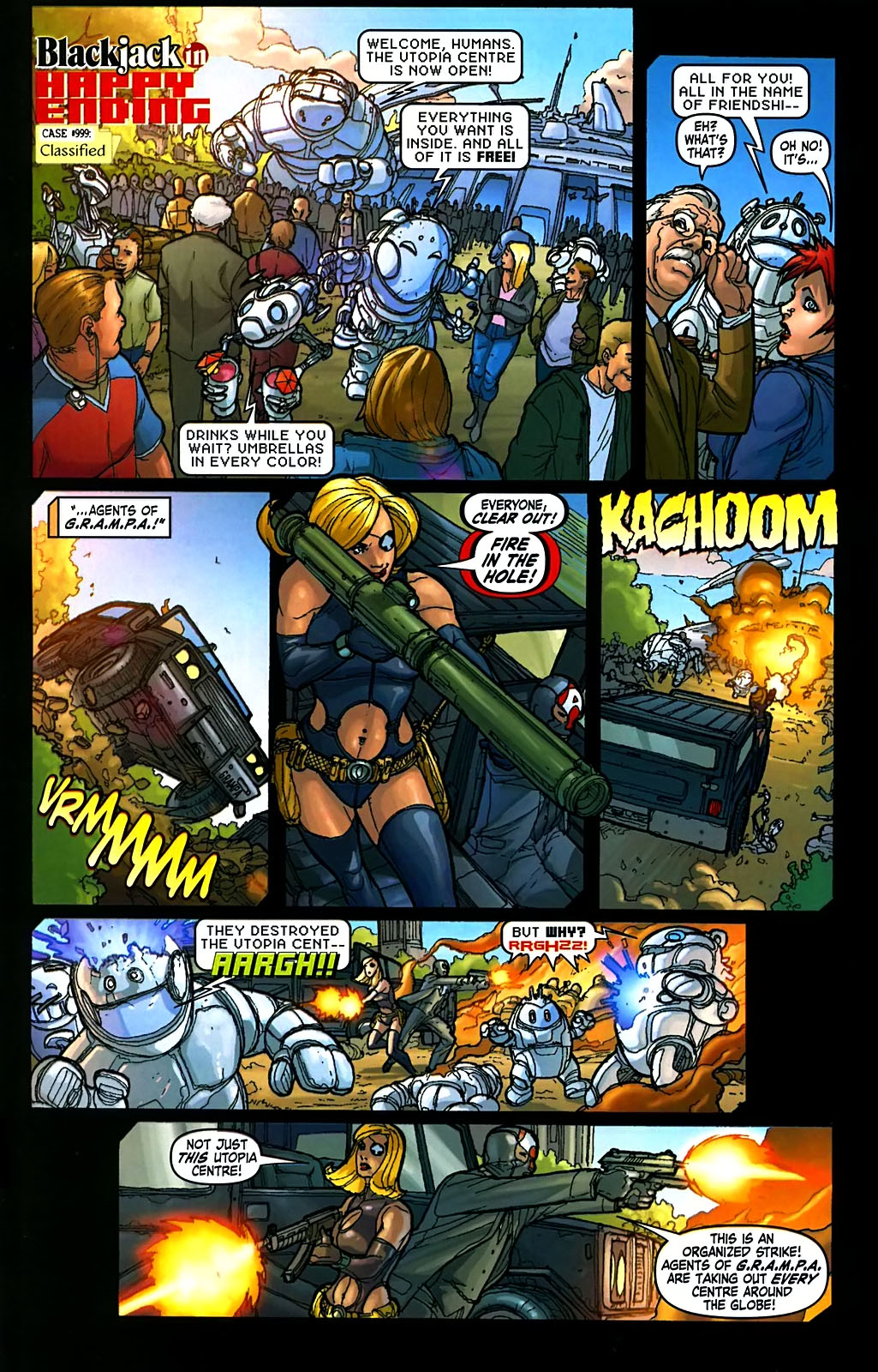 Read online Amazing Fantasy (2004) comic -  Issue #15 - 41