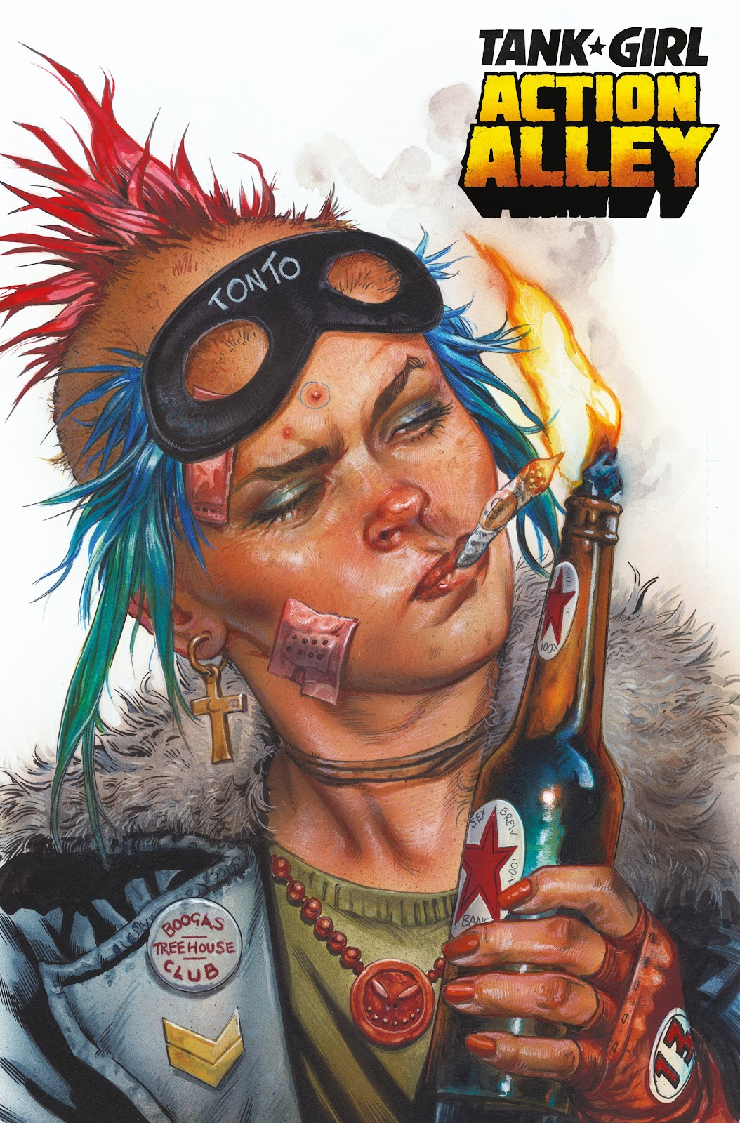 Read online Tank Girl Ongoing comic -  Issue #1 - 3