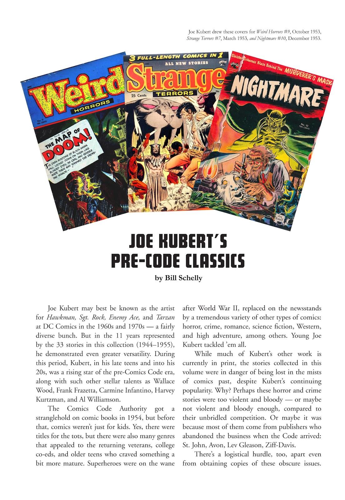 Read online The Joe Kubert Archives comic -  Issue # TPB (Part 1) - 6