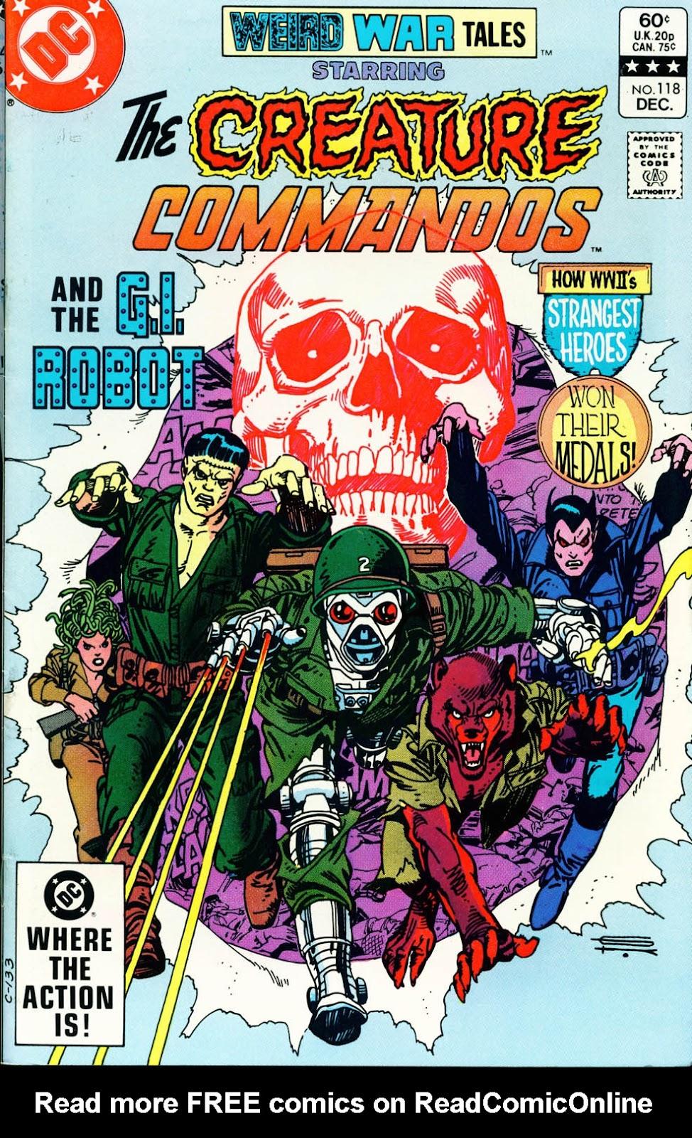 Weird War Tales (1971) issue 118 - Page 1