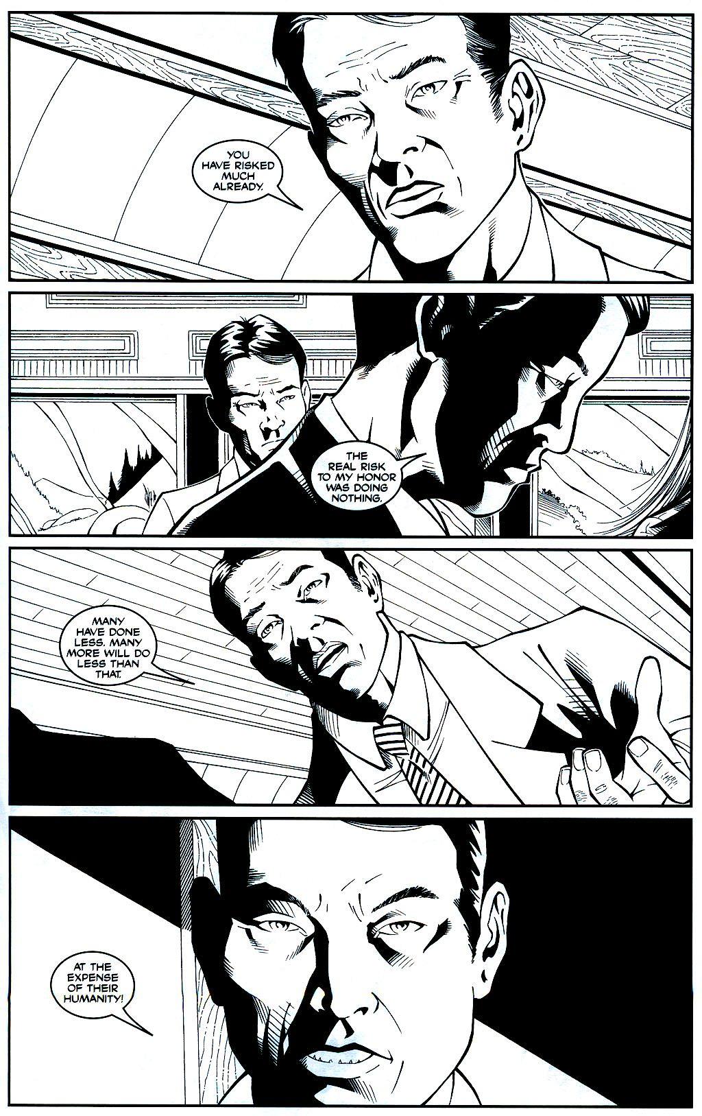 Read online Shi: Sempo comic -  Issue #1 - 20