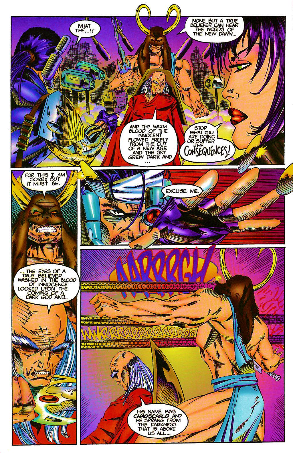 Read online Chains of Chaos comic -  Issue #1 - 12