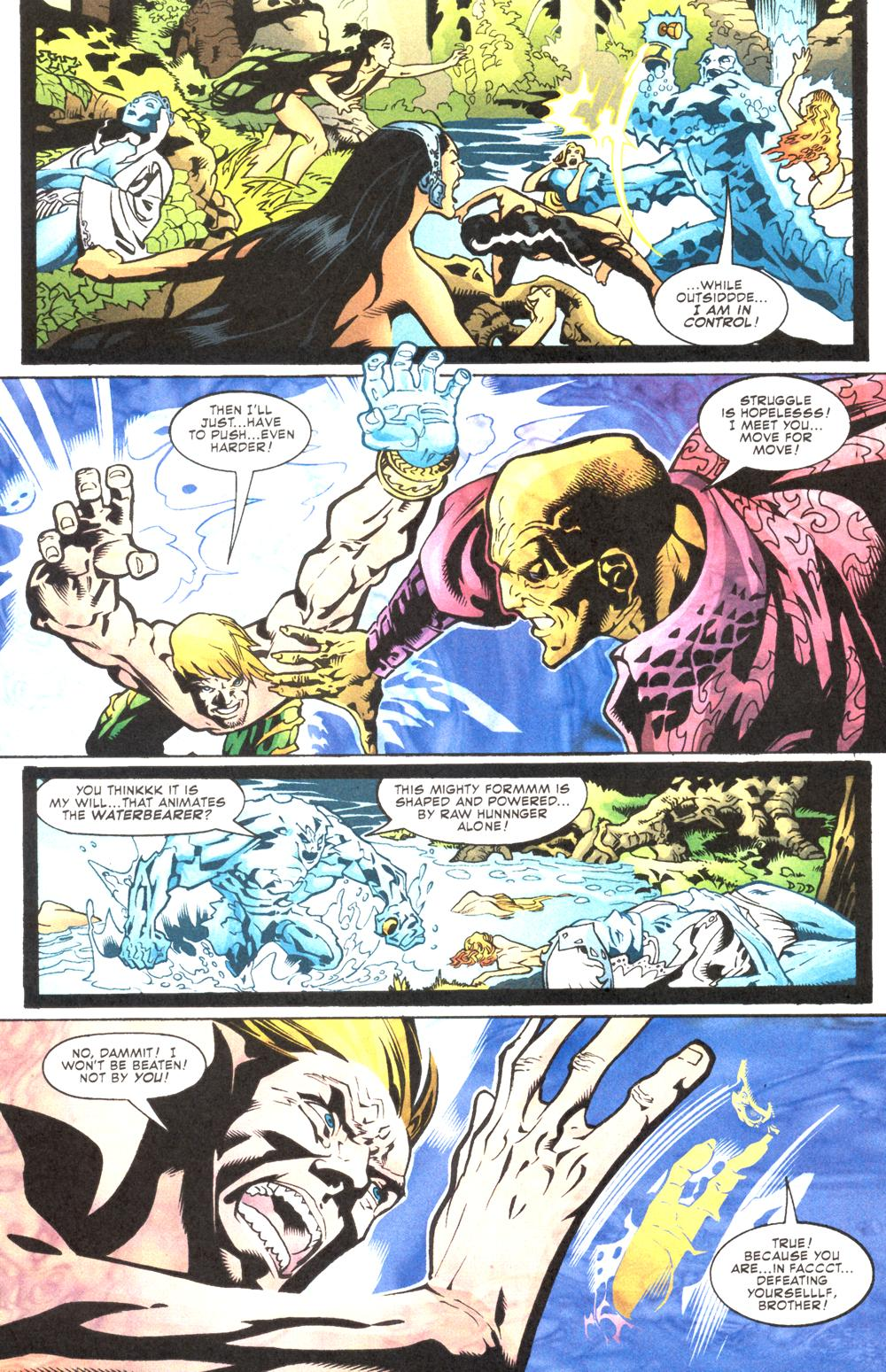 Read online Aquaman (2003) comic -  Issue #12 - 15