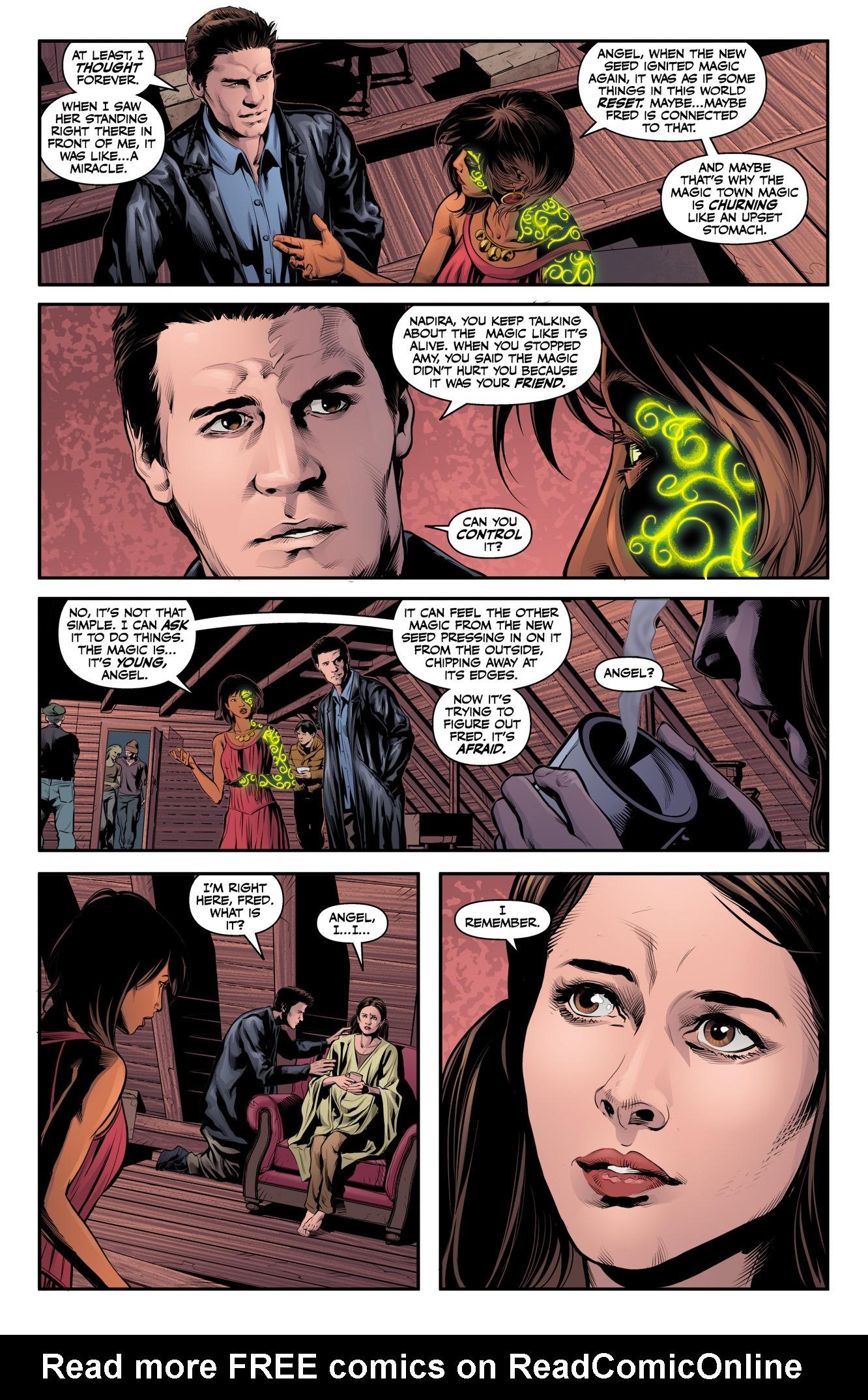 Read online Angel & Faith Season 10 comic -  Issue #11 - 11