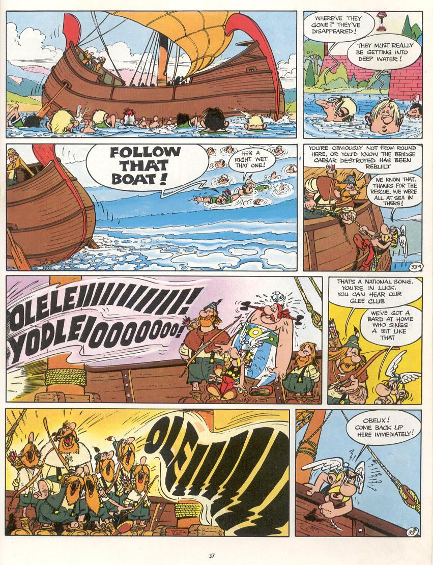 Read online Asterix comic -  Issue #16 - 34