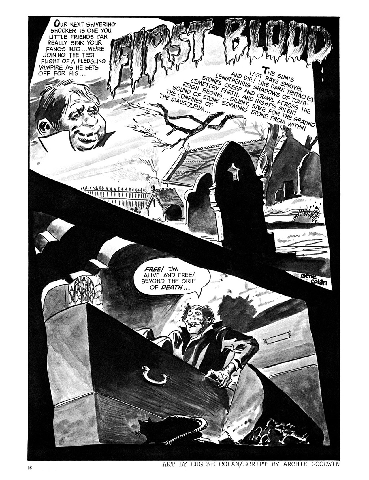 Read online Eerie Archives comic -  Issue # TPB 3 - 59