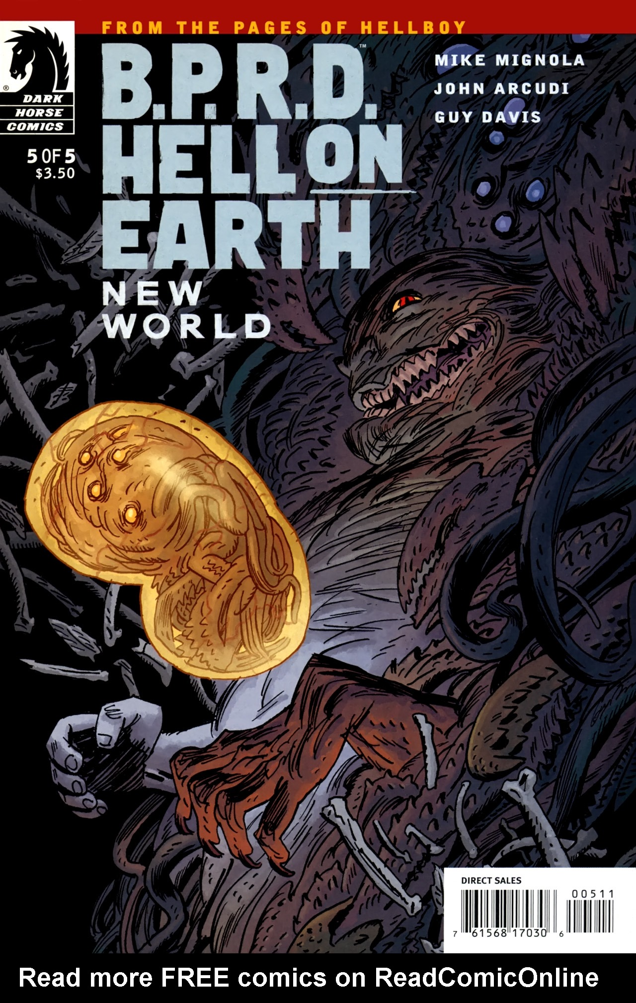 B.P.R.D.: Hell on Earth - New World issue 5 - Page 1