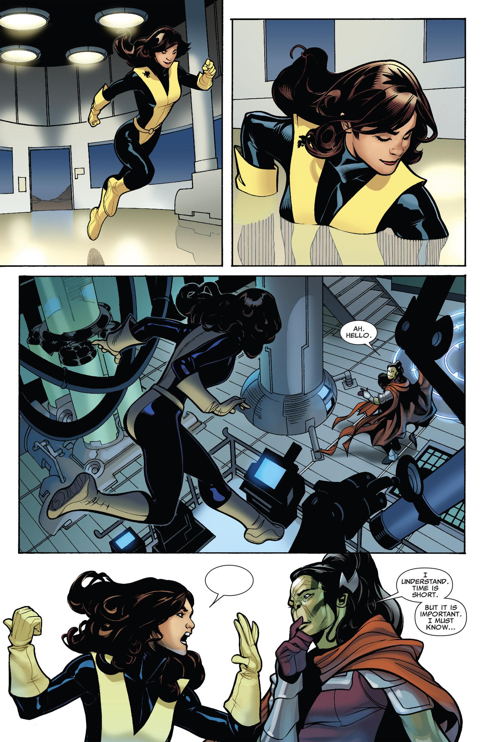 Read online Uncanny X-Men (1963) comic -  Issue #537 - 22
