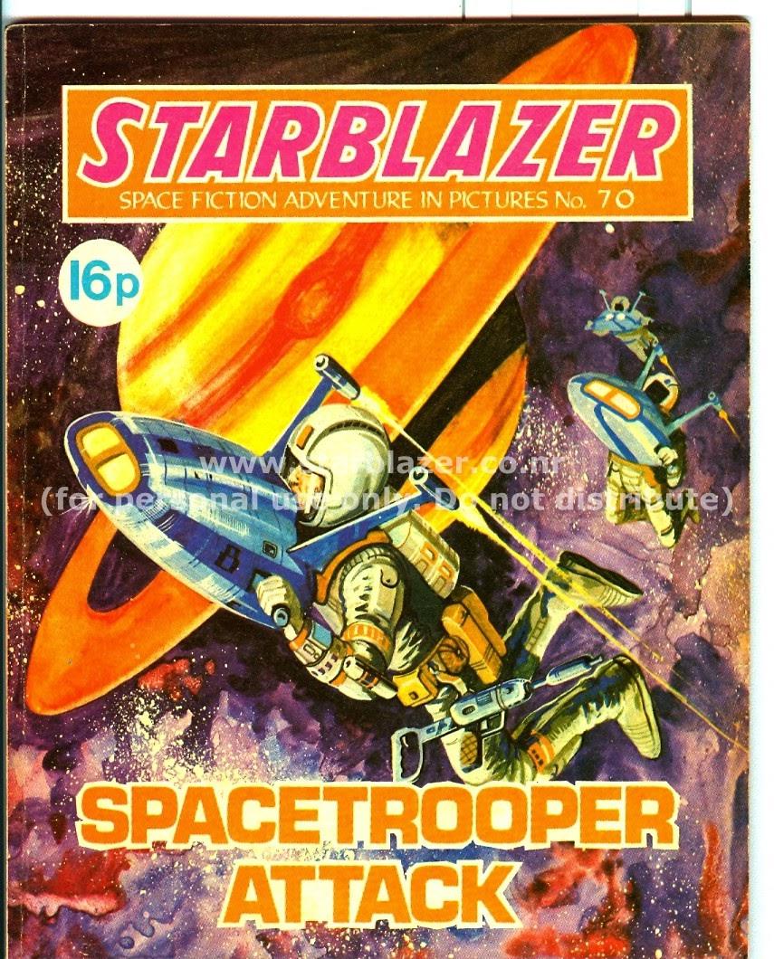 Starblazer issue 70 - Page 2