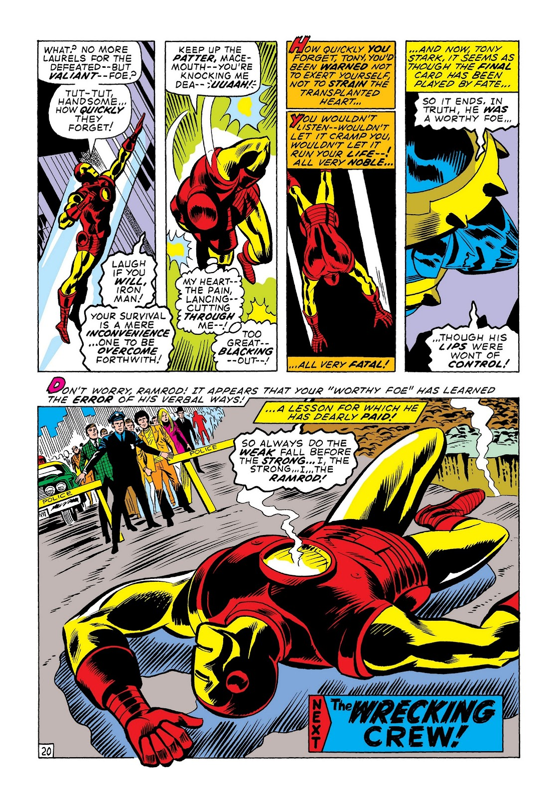 Read online Marvel Masterworks: The Invincible Iron Man comic -  Issue # TPB 7 (Part 3) - 48
