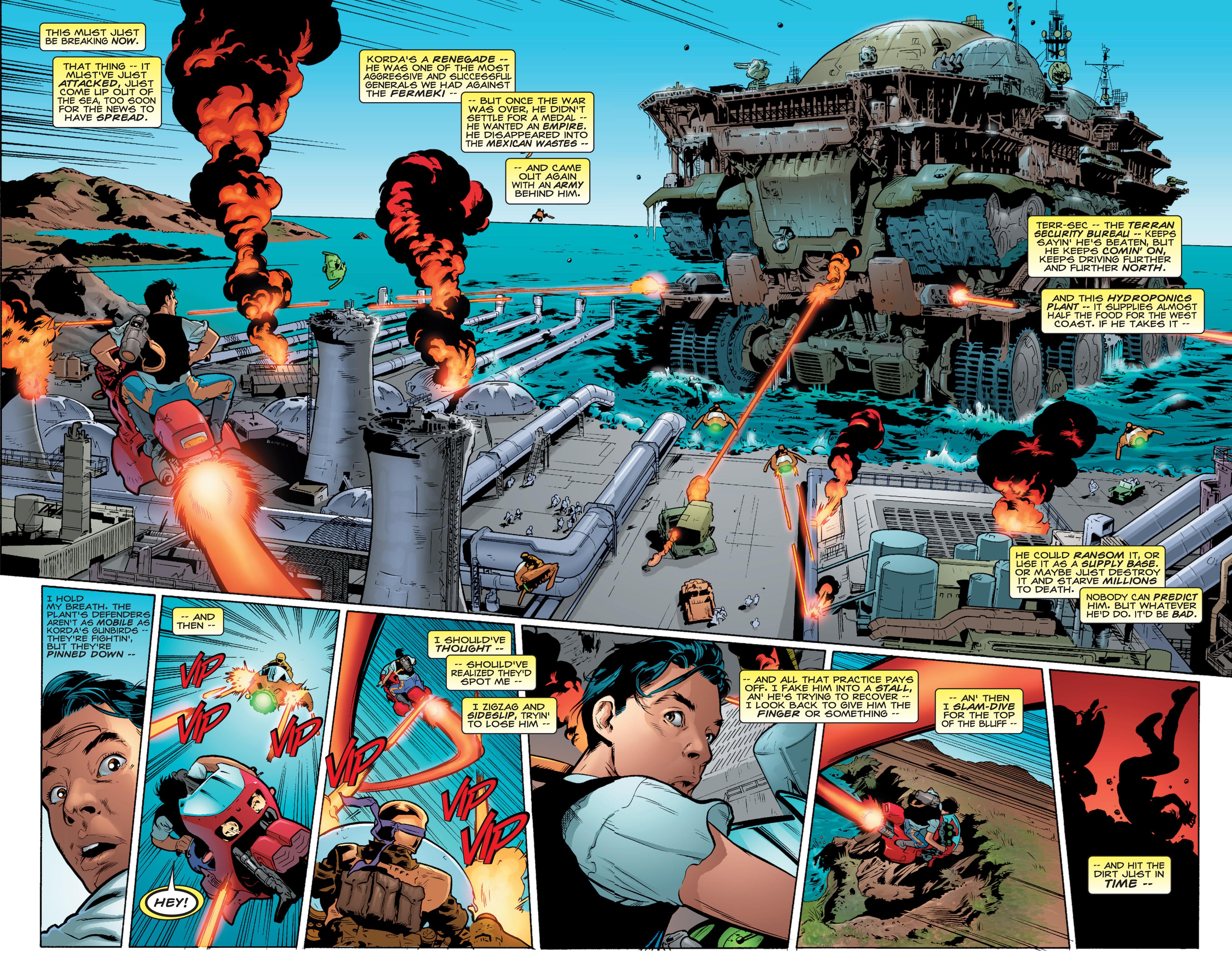 Read online Shockrockets comic -  Issue # TPB - 15