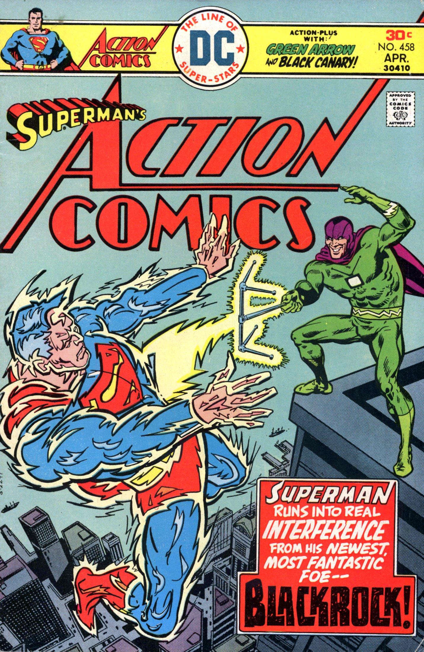 Action Comics (1938) 458 Page 0