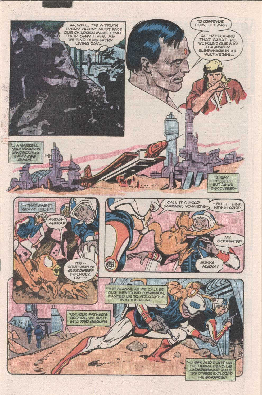 Read online Atari Force (1984) comic -  Issue #9 - 19