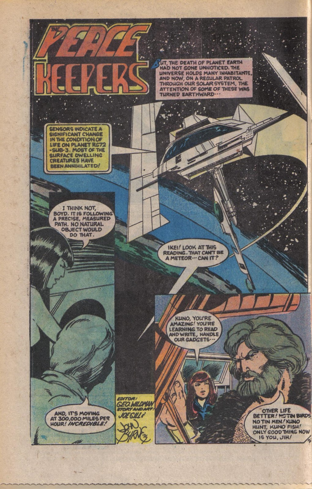 Read online Doomsday   1 (1975) comic -  Issue #9 - 4