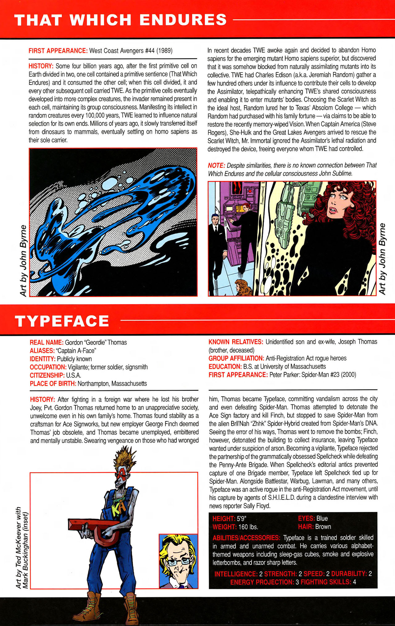 Read online All-New Official Handbook of the Marvel Universe A to Z comic -  Issue #11 - 66