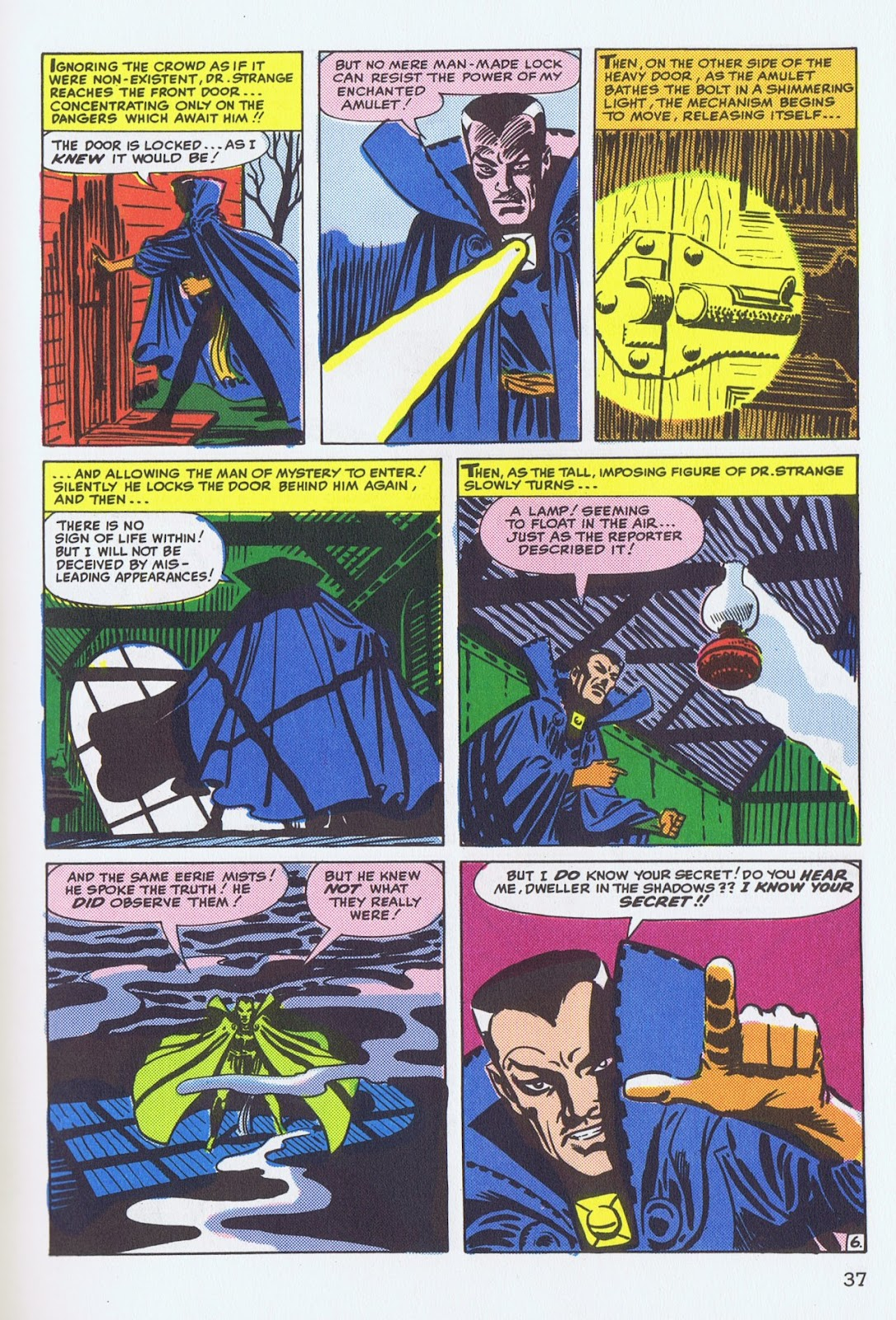 Doctor Strange: Master of the Mystic Arts issue TPB - Page 35