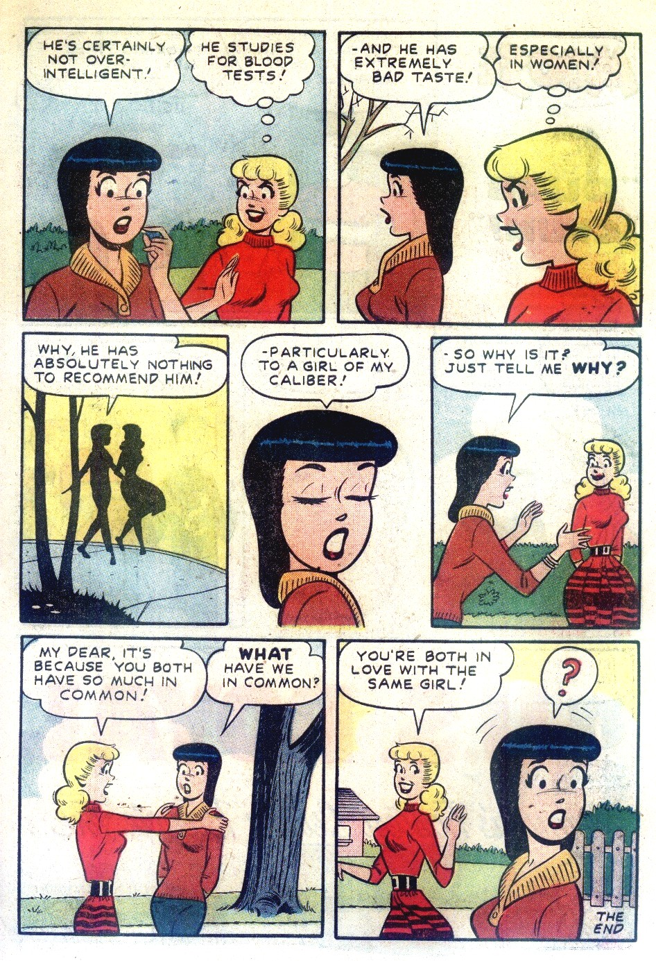 Read online Archie's Girls Betty and Veronica comic -  Issue #55 - 23