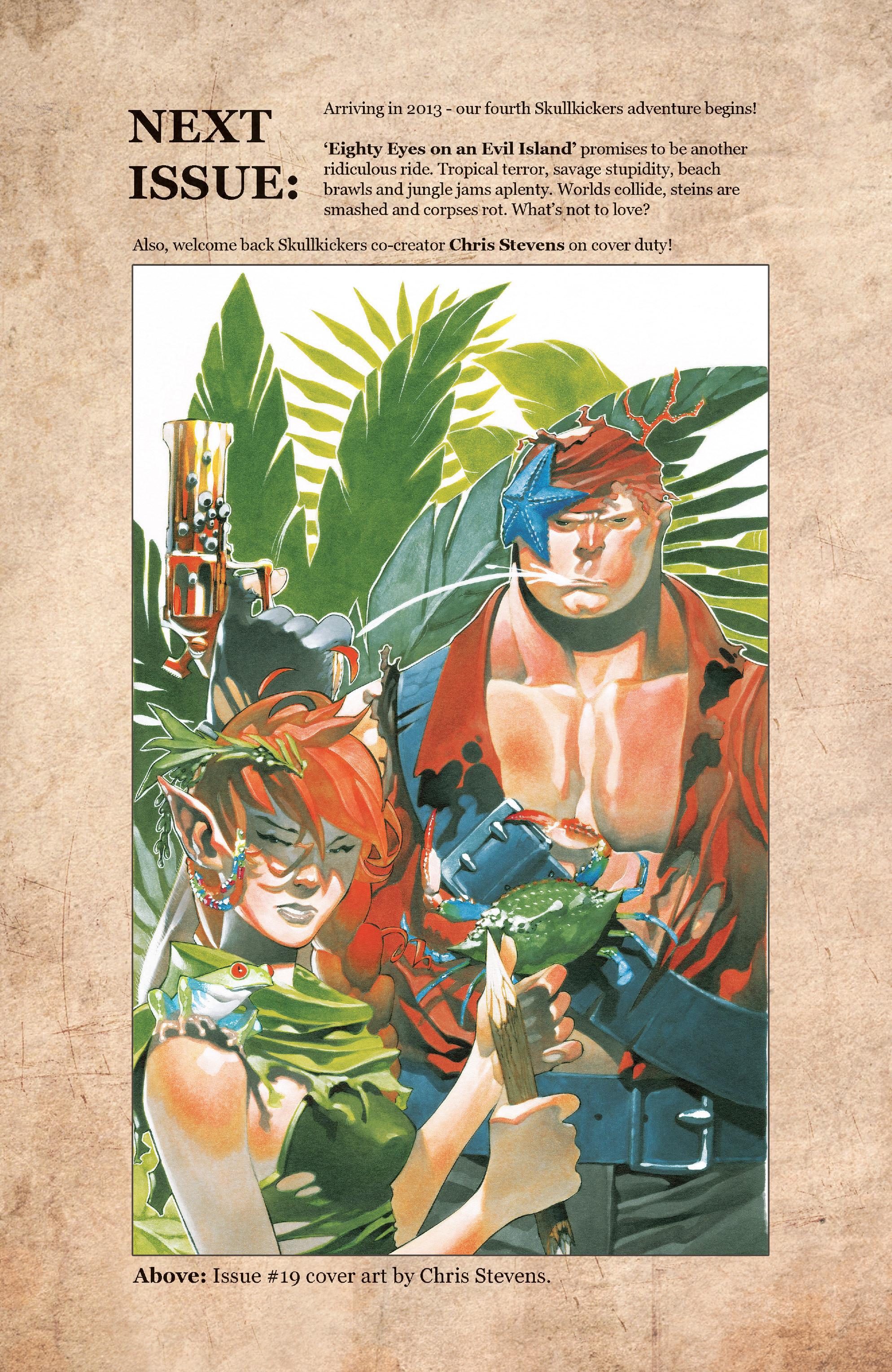 Read online Skullkickers comic -  Issue #18 - 37