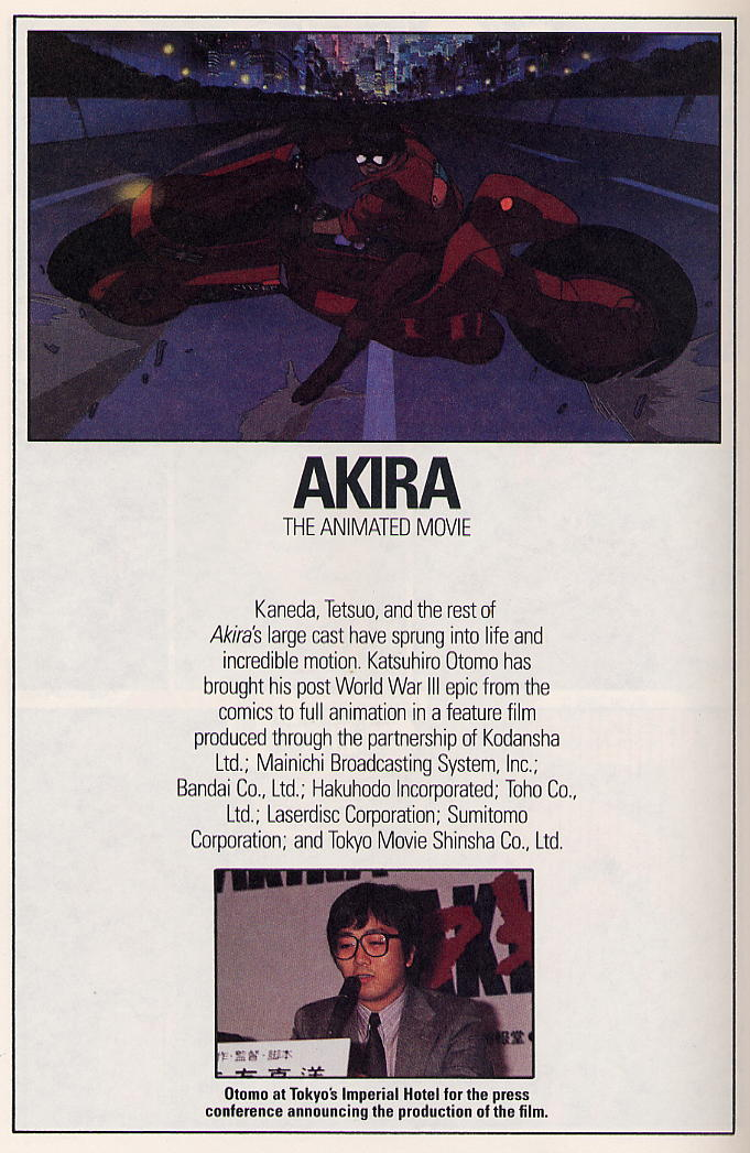 Read online Akira comic -  Issue #3 - 64