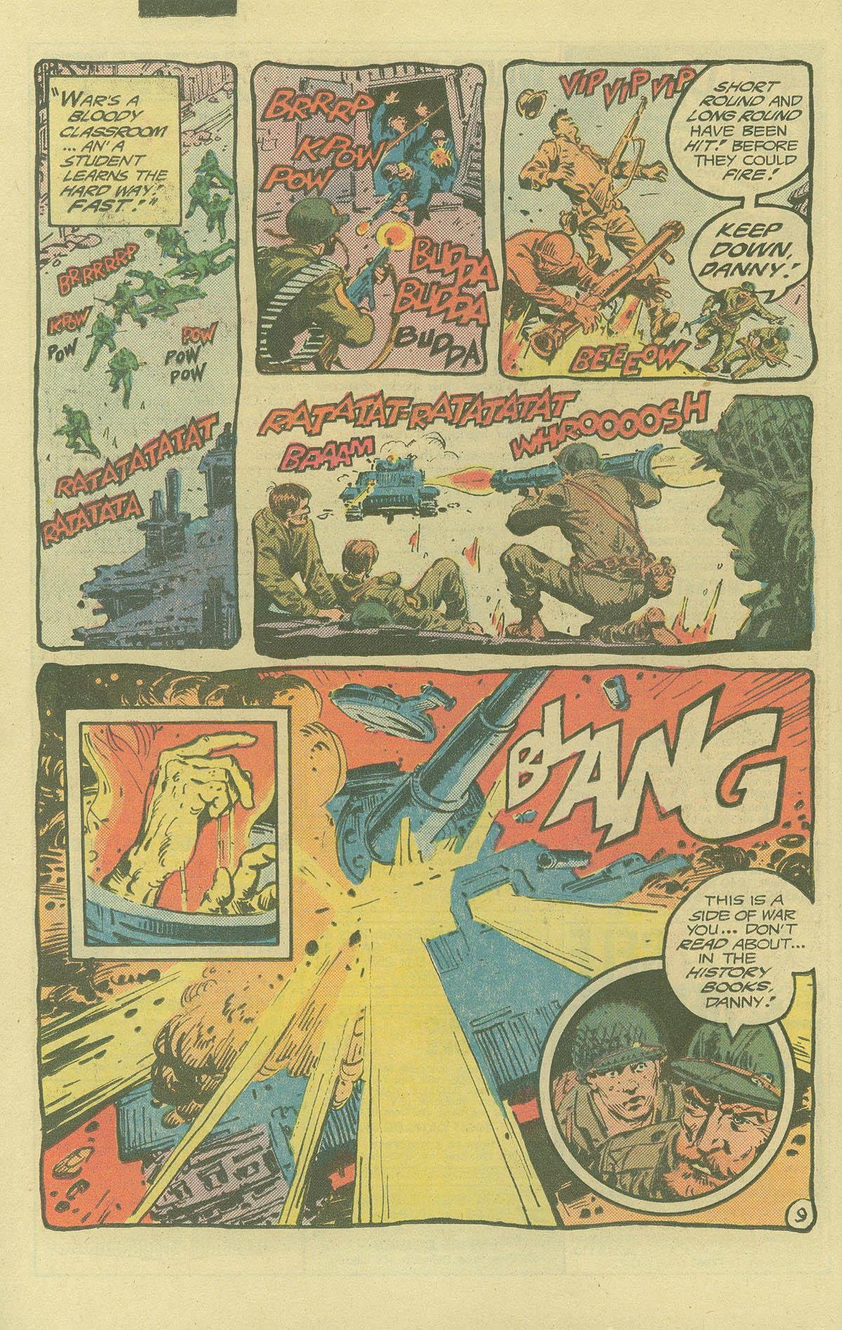 Read online Sgt. Rock comic -  Issue #402 - 13