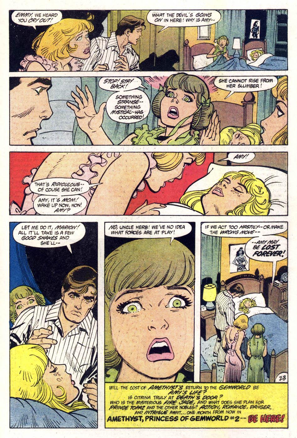 Read online Amethyst (1985) comic -  Issue #1 - 24