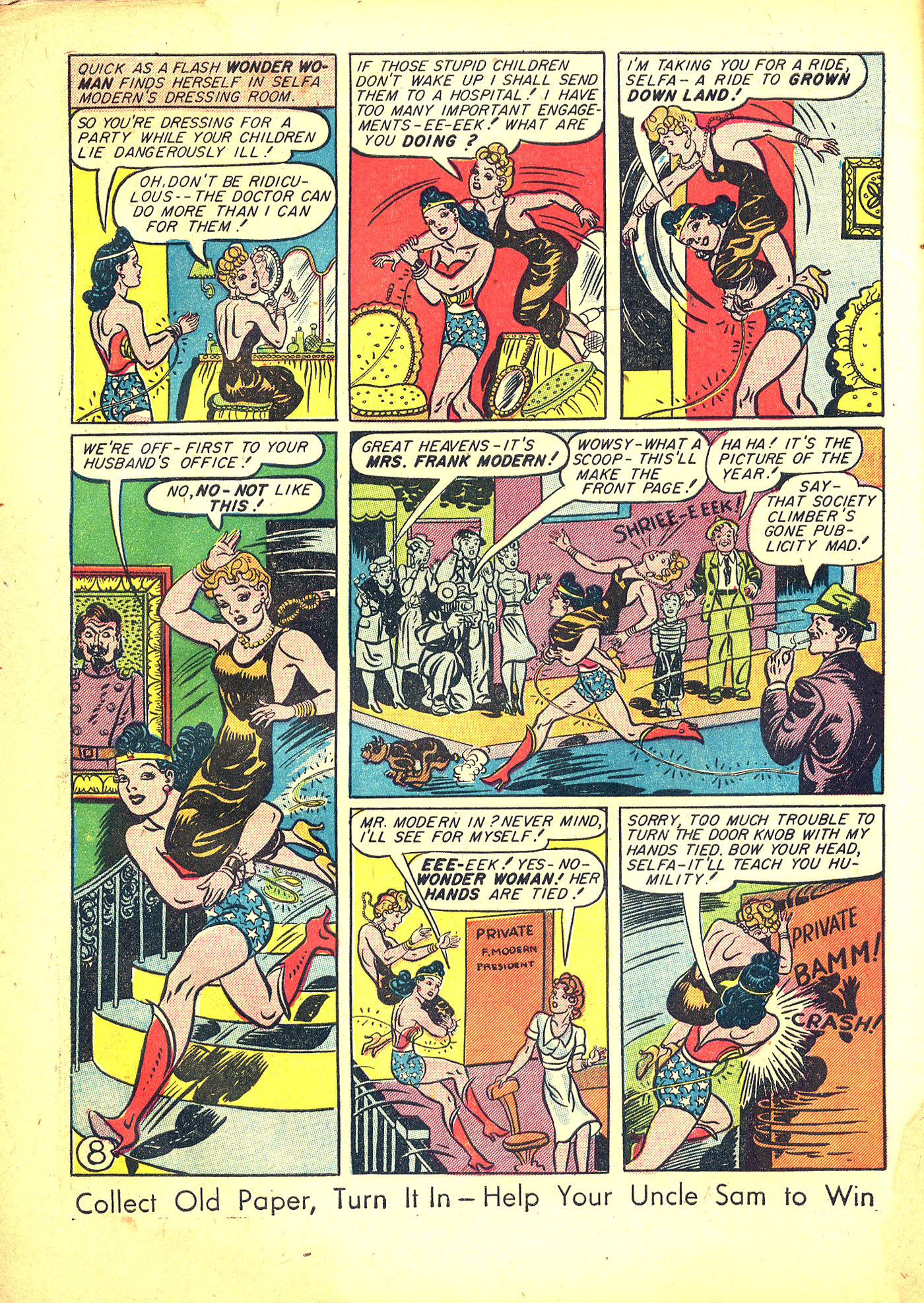Read online Sensation (Mystery) Comics comic -  Issue #31 - 10