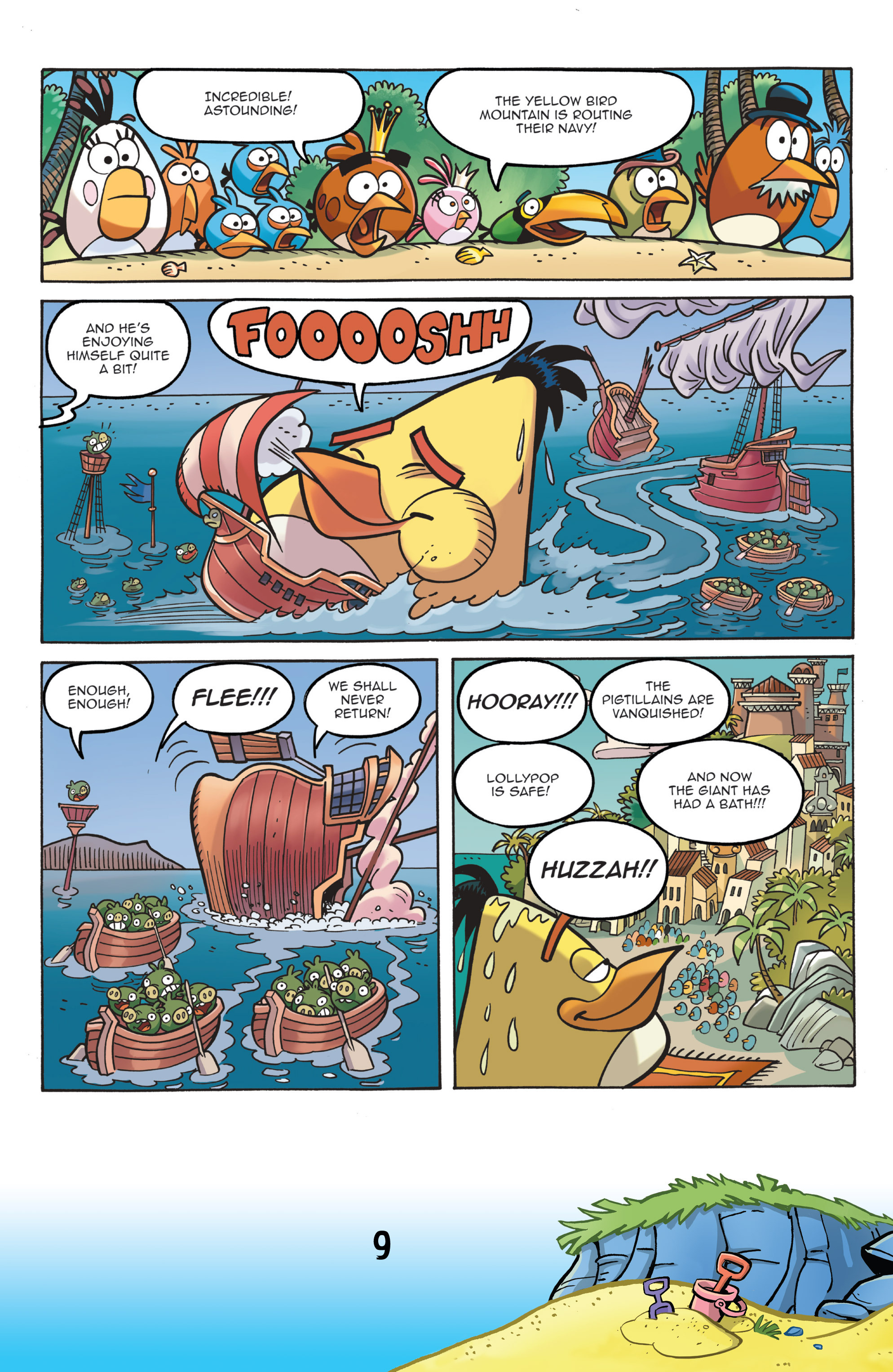 Read online Angry Birds Comics (2016) comic -  Issue #7 - 11