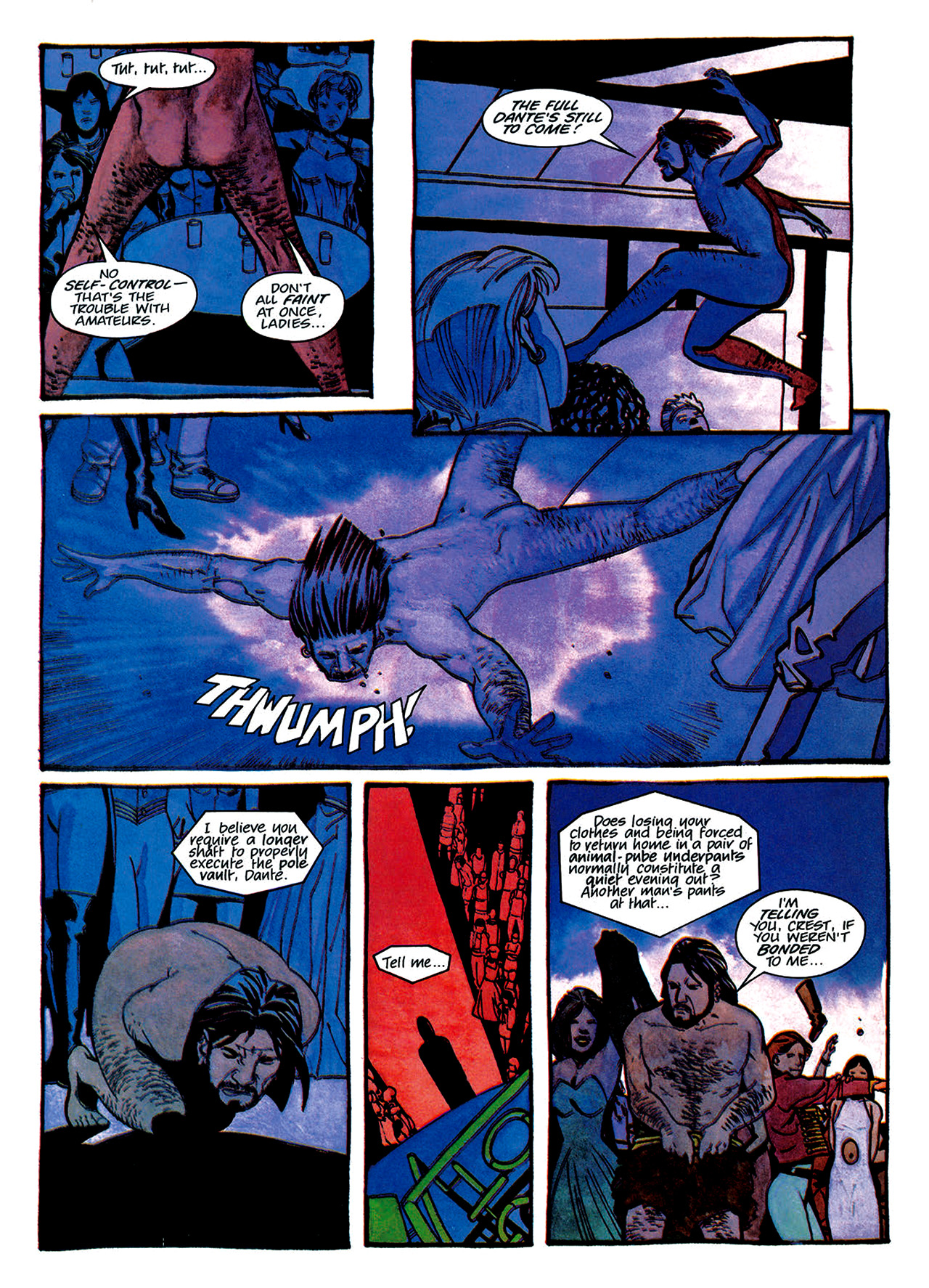 Read online Nikolai Dante comic -  Issue # TPB 1 - 130