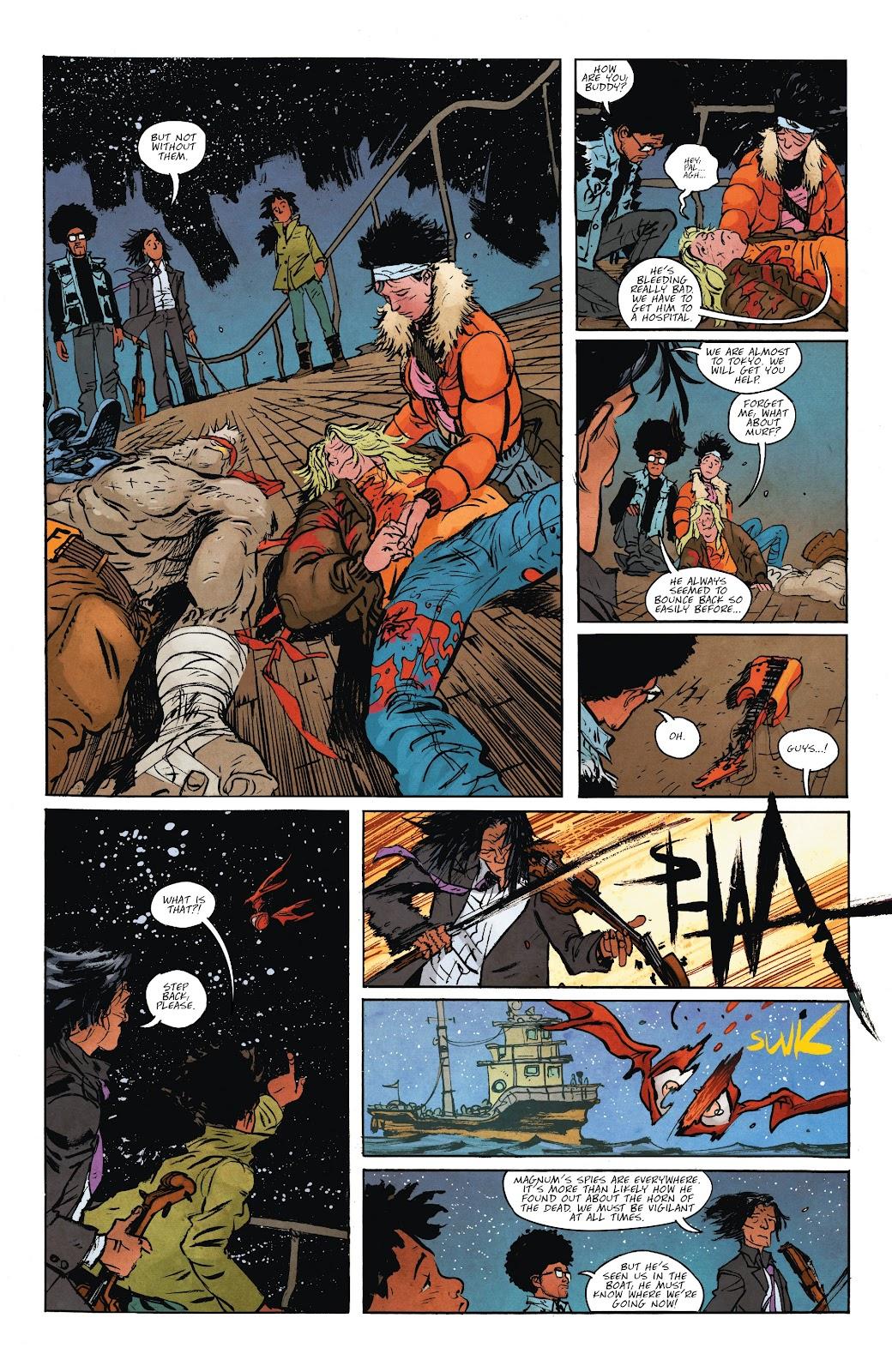 Read online Murder Falcon comic -  Issue #7 - 4