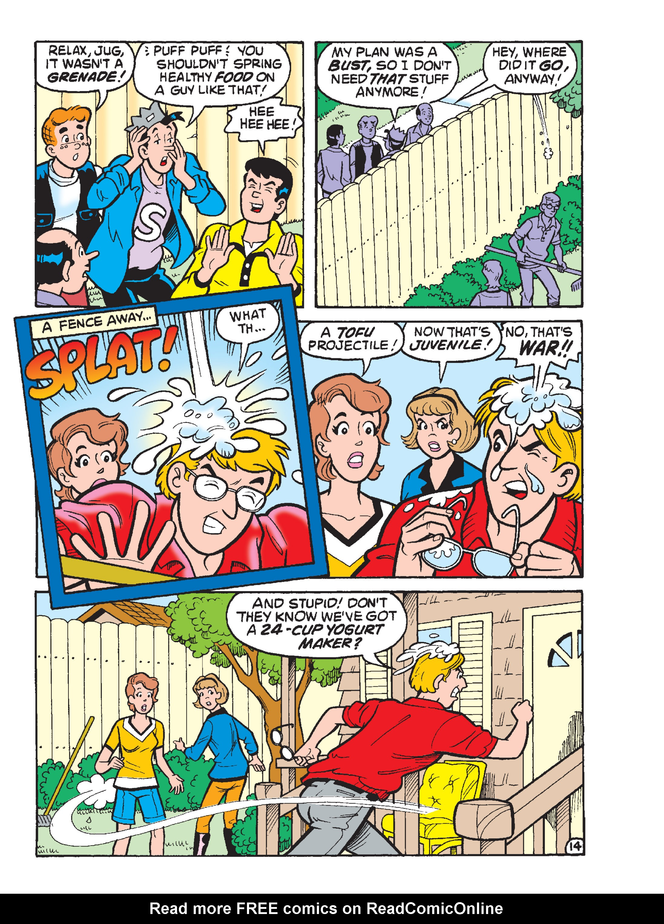 Read online Archie 1000 Page Comics Blowout! comic -  Issue # TPB (Part 2) - 249