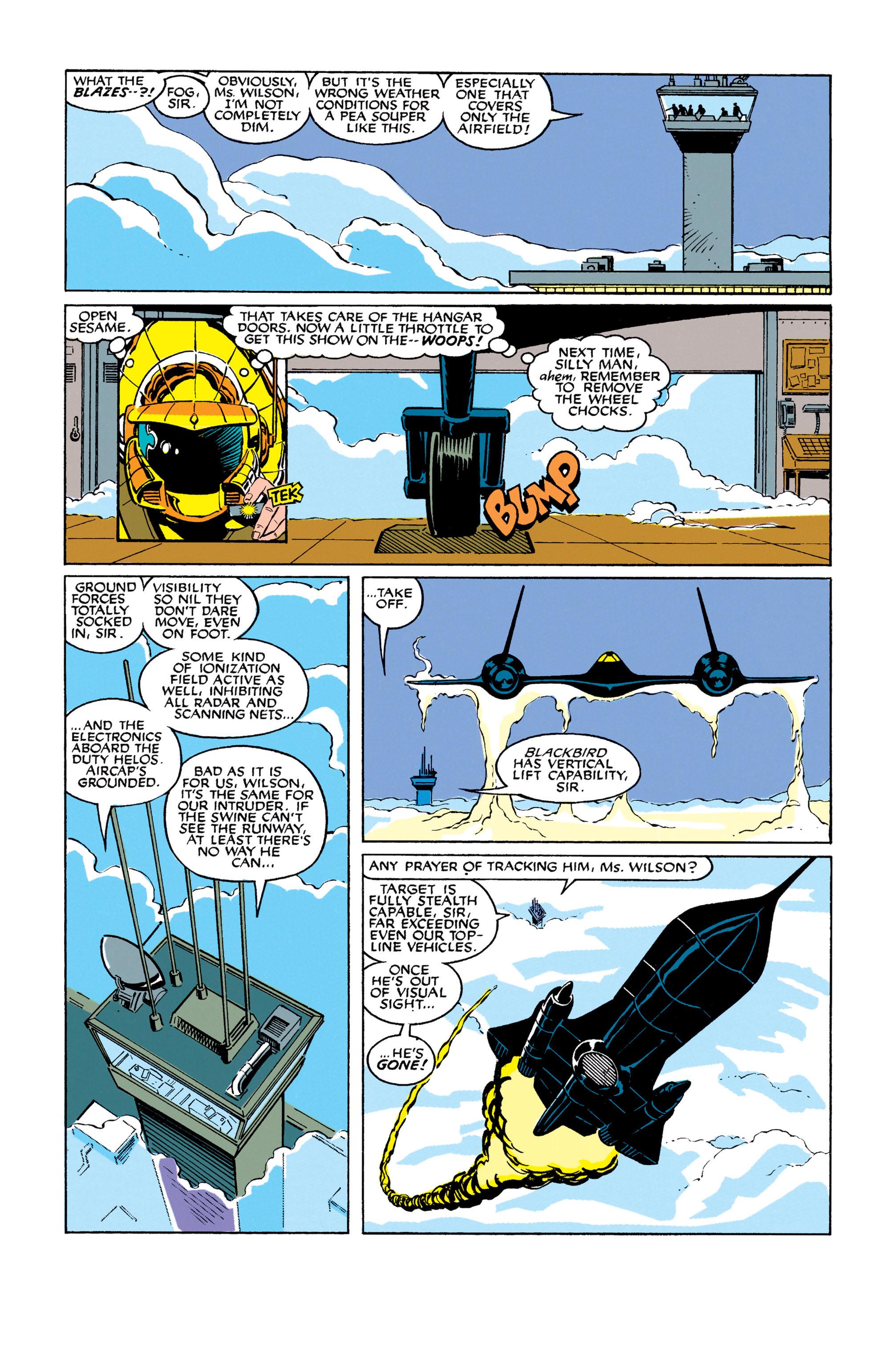 Read online Uncanny X-Men (1963) comic -  Issue #278 - 8