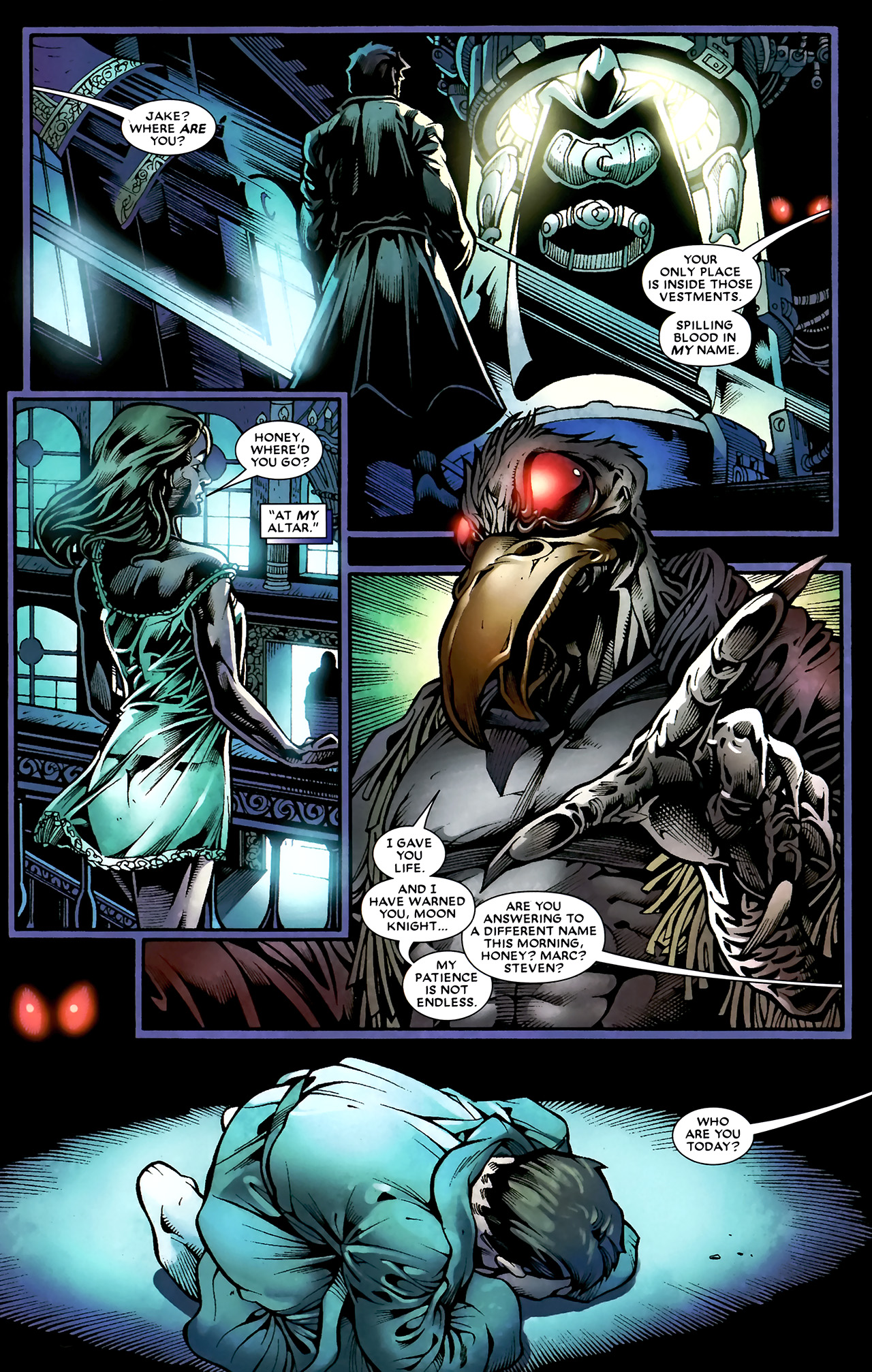 Read online Shadowland: Moon Knight comic -  Issue #1 - 21