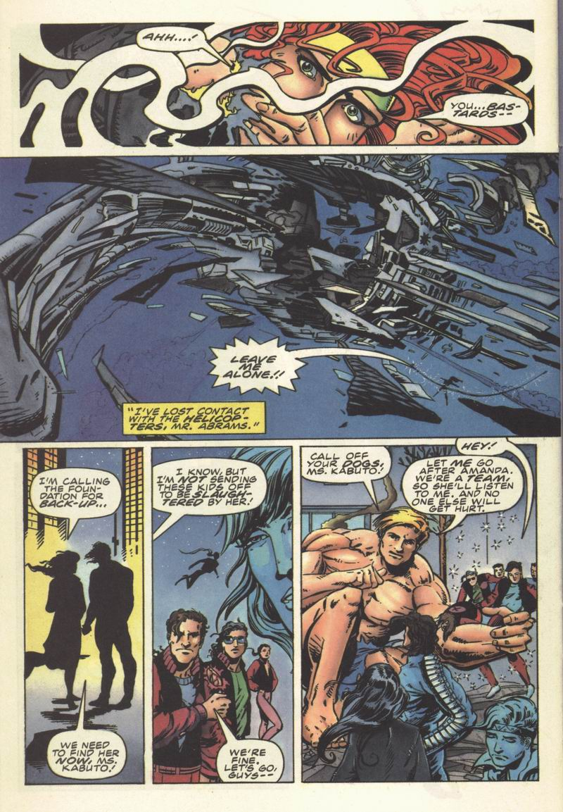 Read online Secret Weapons comic -  Issue #8 - 19