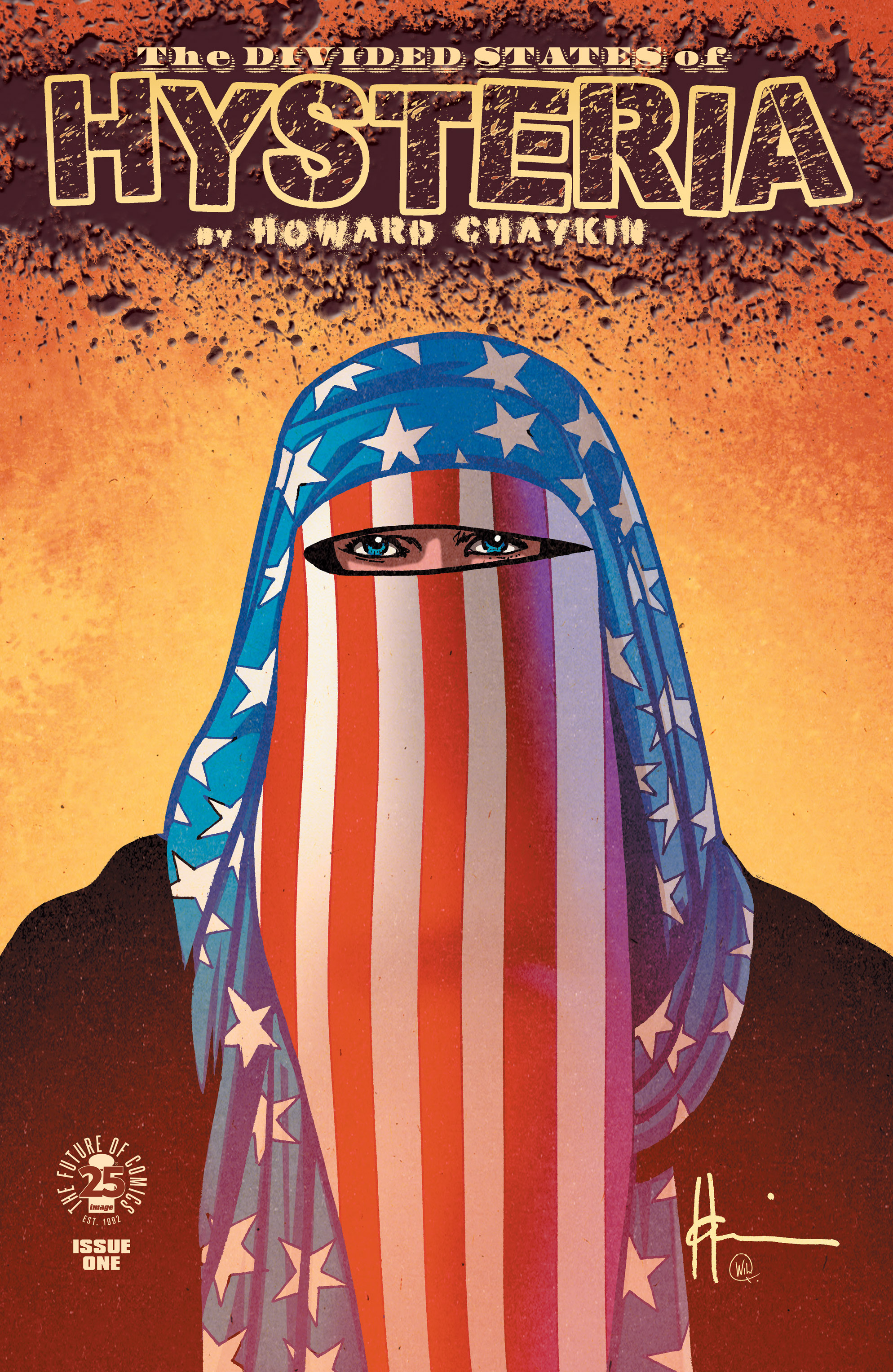 Read online The Divided States of Hysteria comic -  Issue #1 - 1