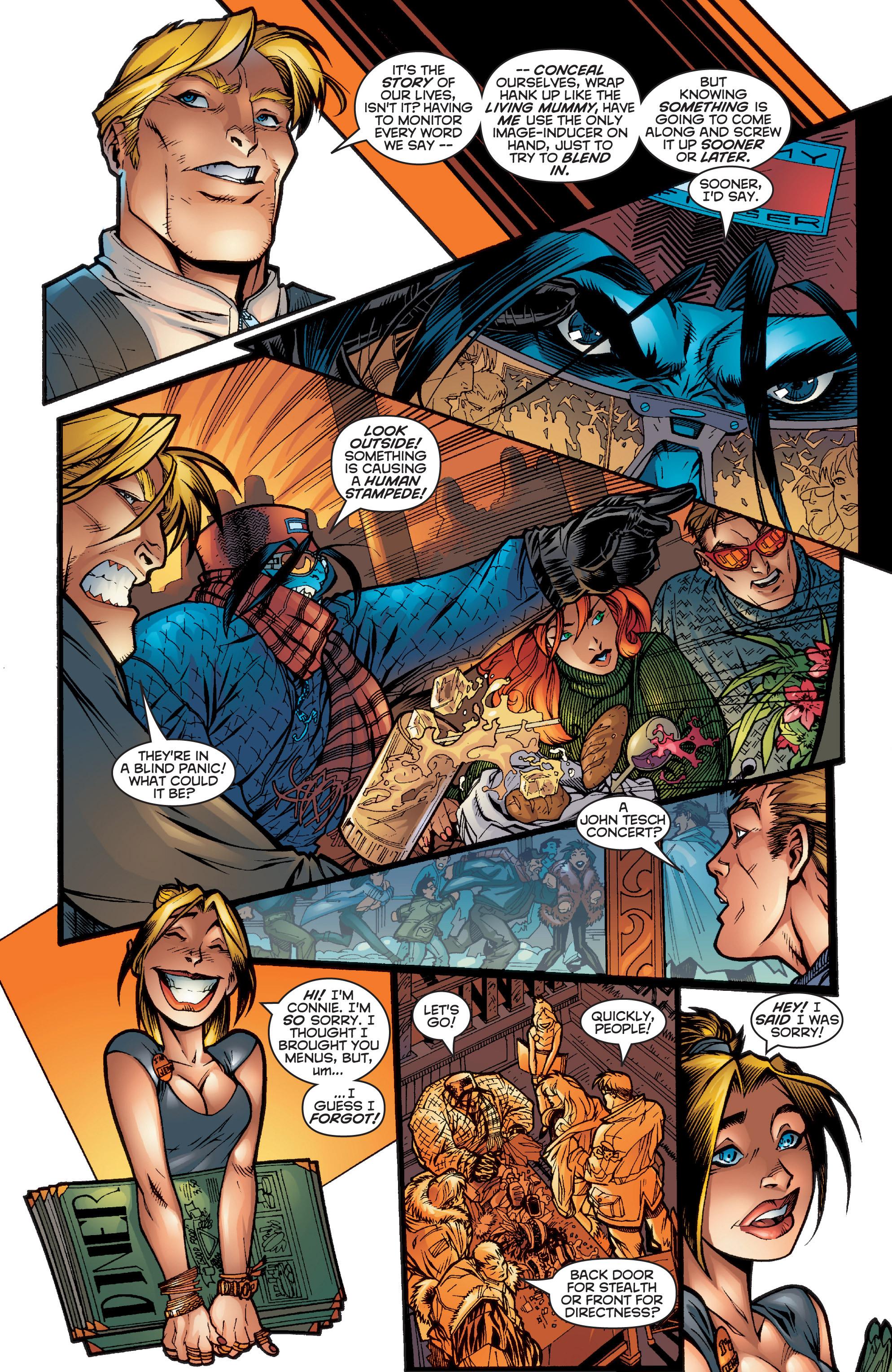 Read online Uncanny X-Men (1963) comic -  Issue #357 - 4