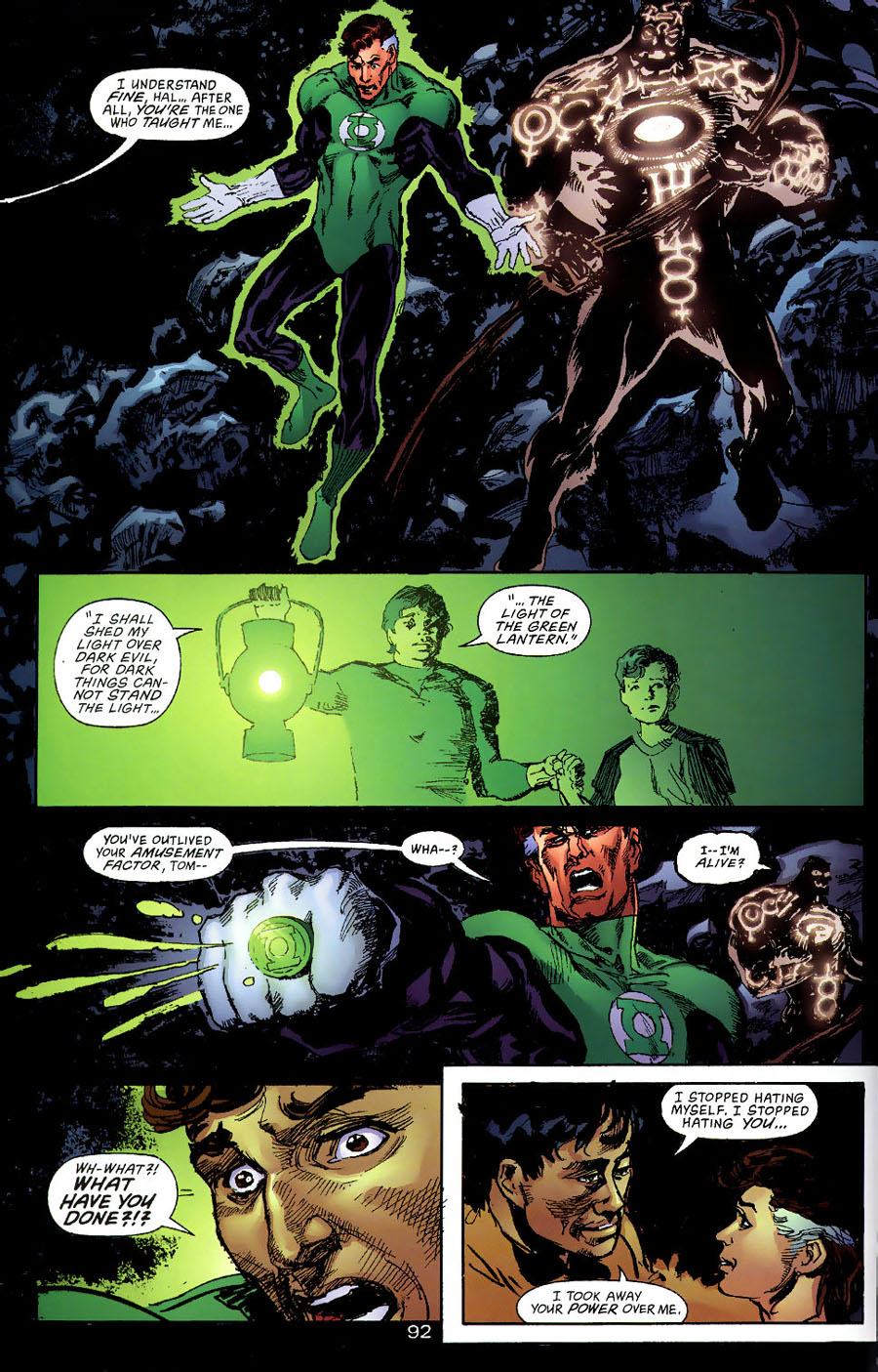 Read online Green Lantern: Legacy: The Last Will and Testament of Hal Jordan comic -  Issue # TPB - 99