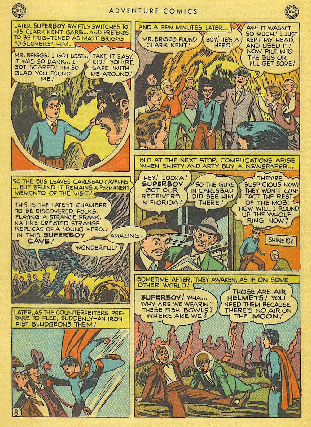 Read online Adventure Comics (1938) comic -  Issue #138 - 10