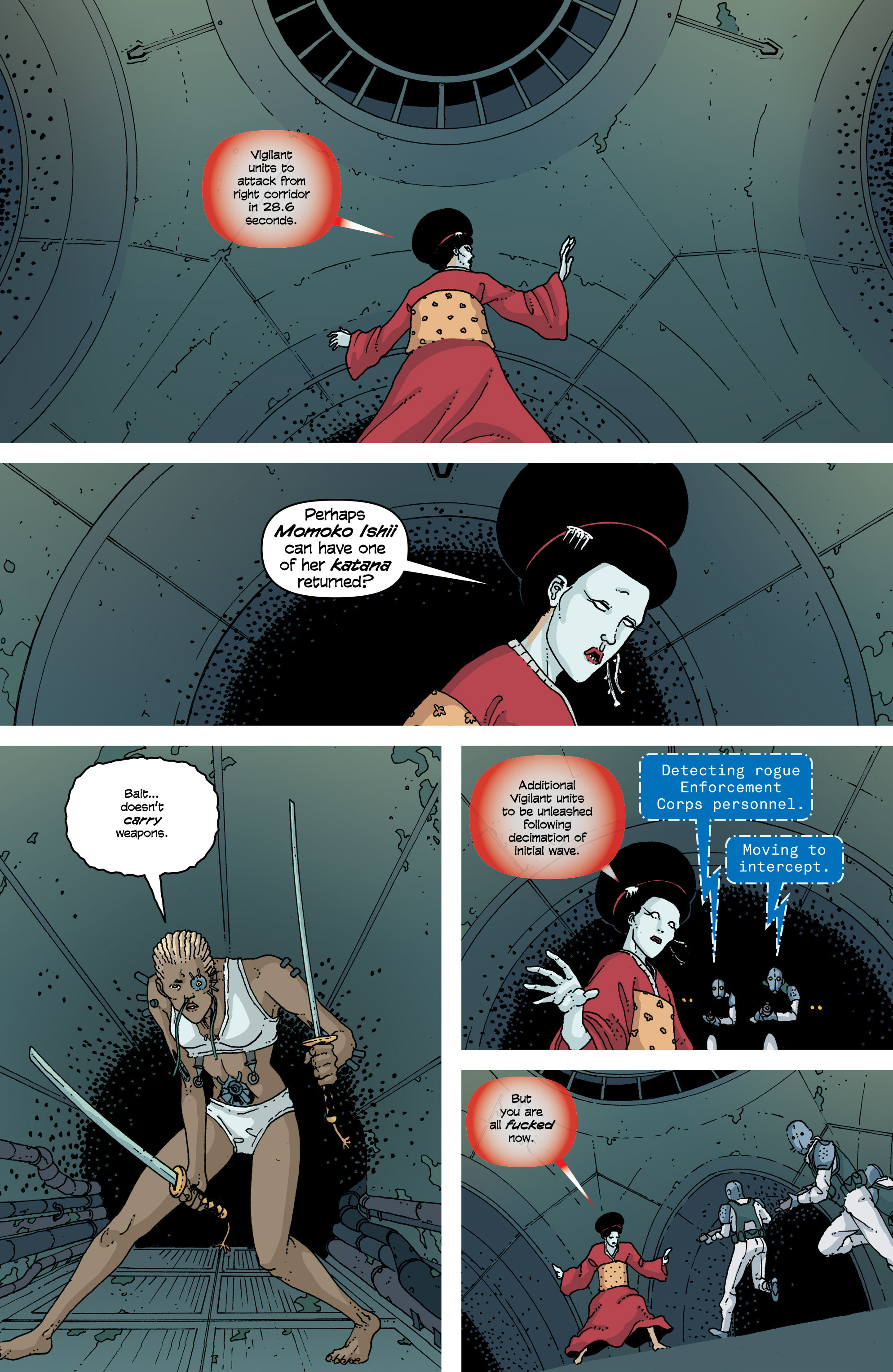 Read online Snowfall comic -  Issue #7 - 8