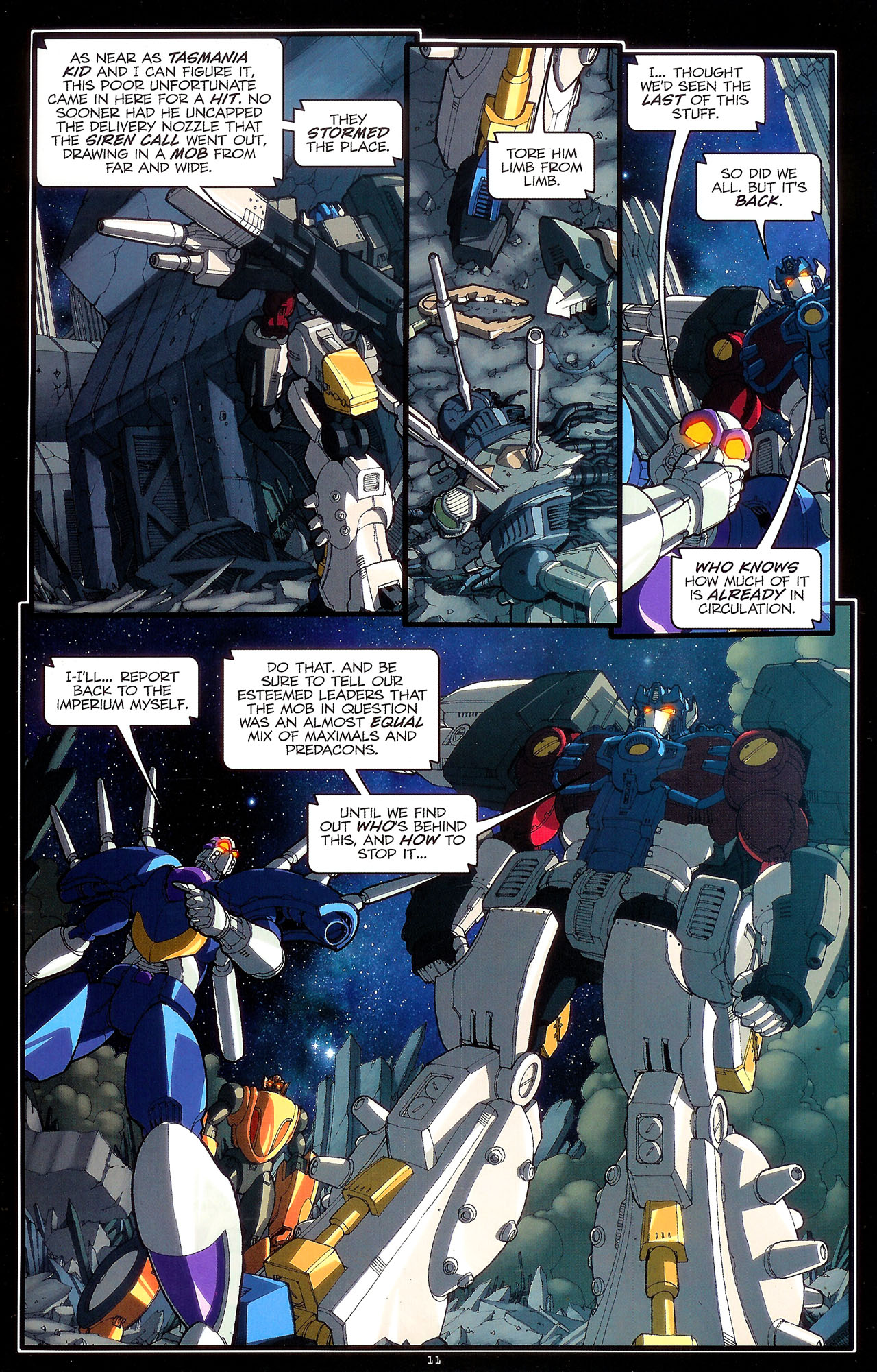 Read online Transformers: Beast Wars: The Ascending comic -  Issue #2 - 14