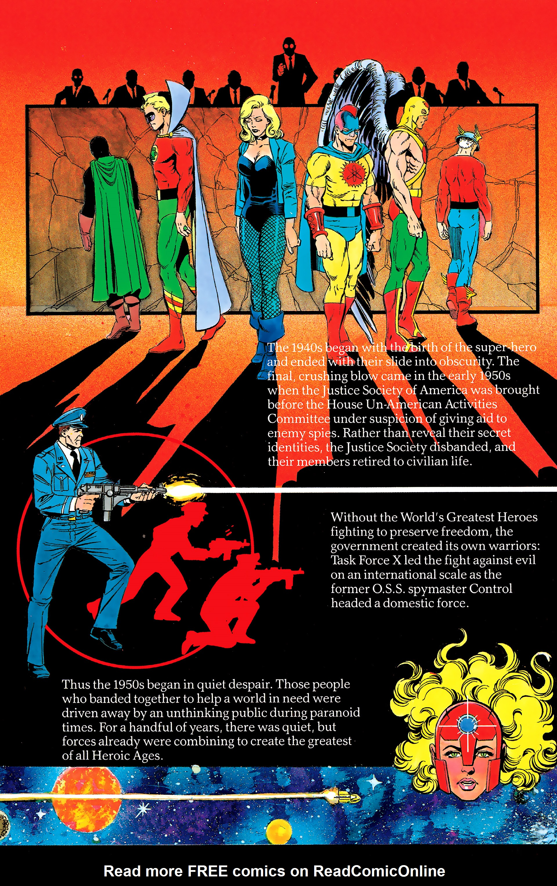 Read online History of the DC Universe comic -  Issue #2 - 10