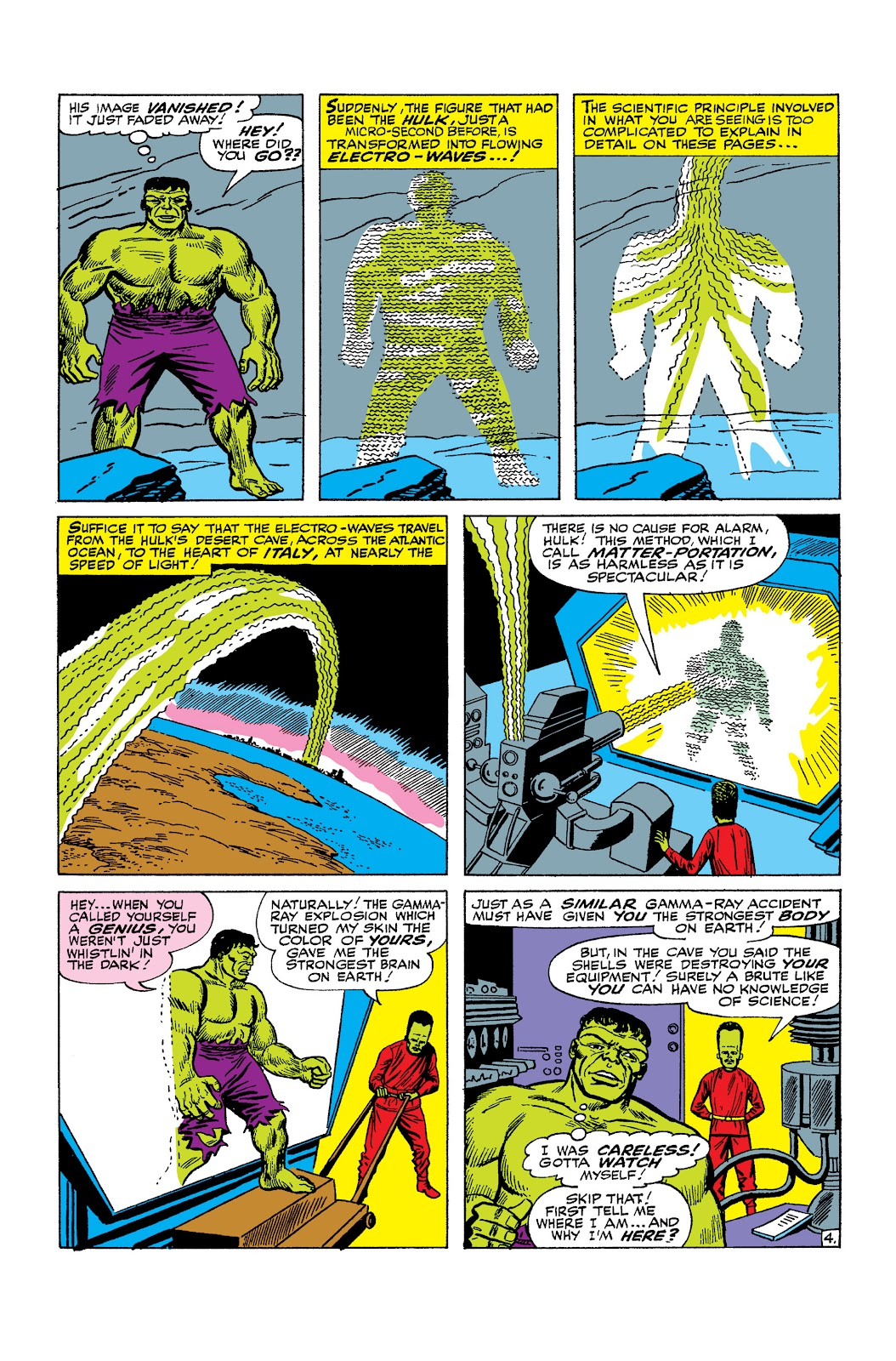 Read online Marvel Masterworks: The Incredible Hulk comic -  Issue # TPB 2 (Part 2) - 60