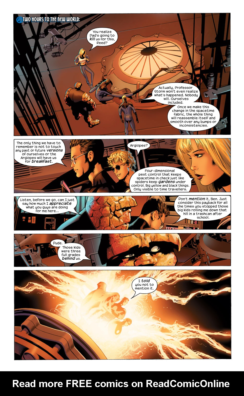 Read online Ultimate Fantastic Four (2004) comic -  Issue #27 - 19