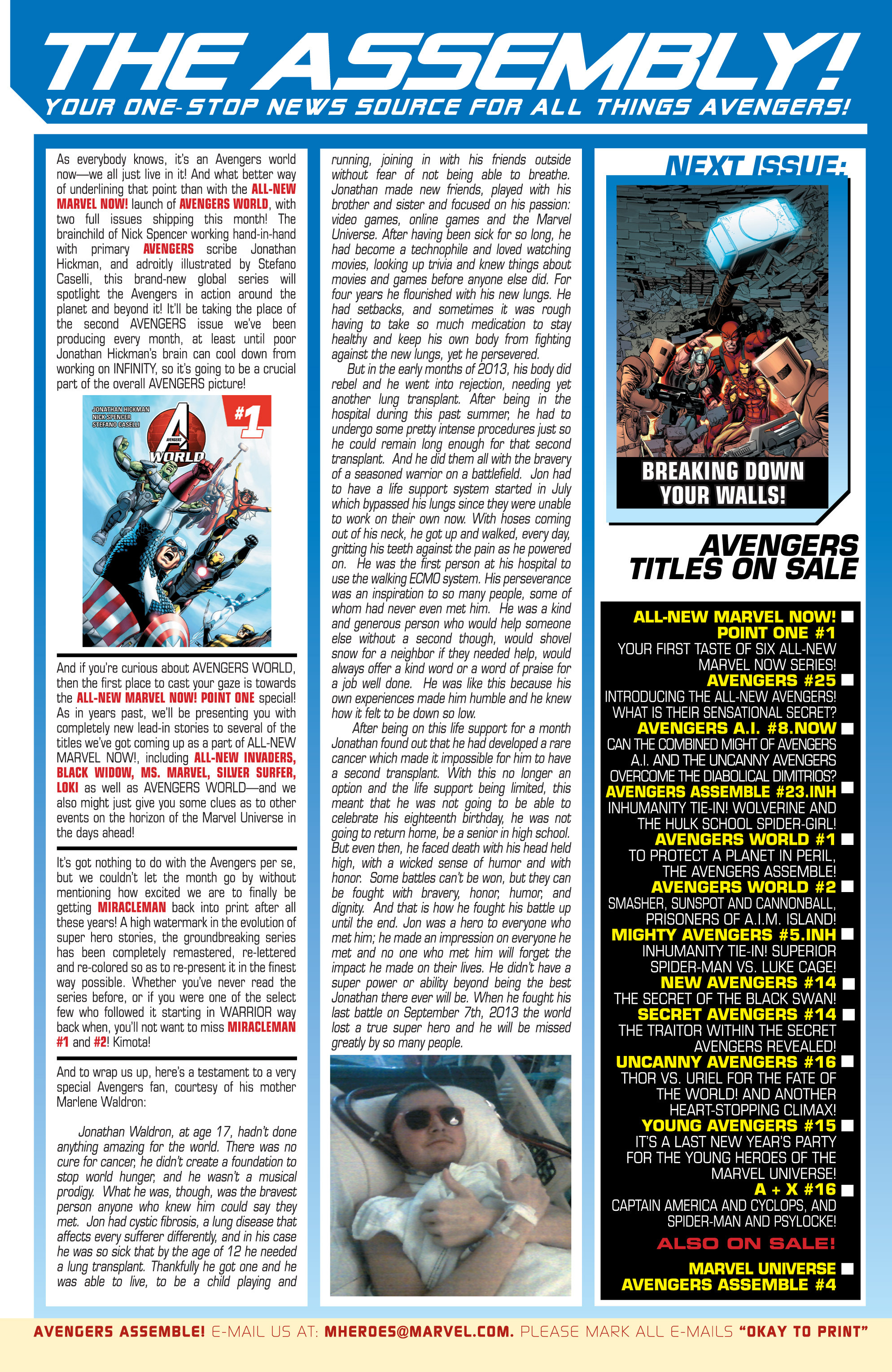Read online Avengers (2013) comic -  Issue #25 - 25