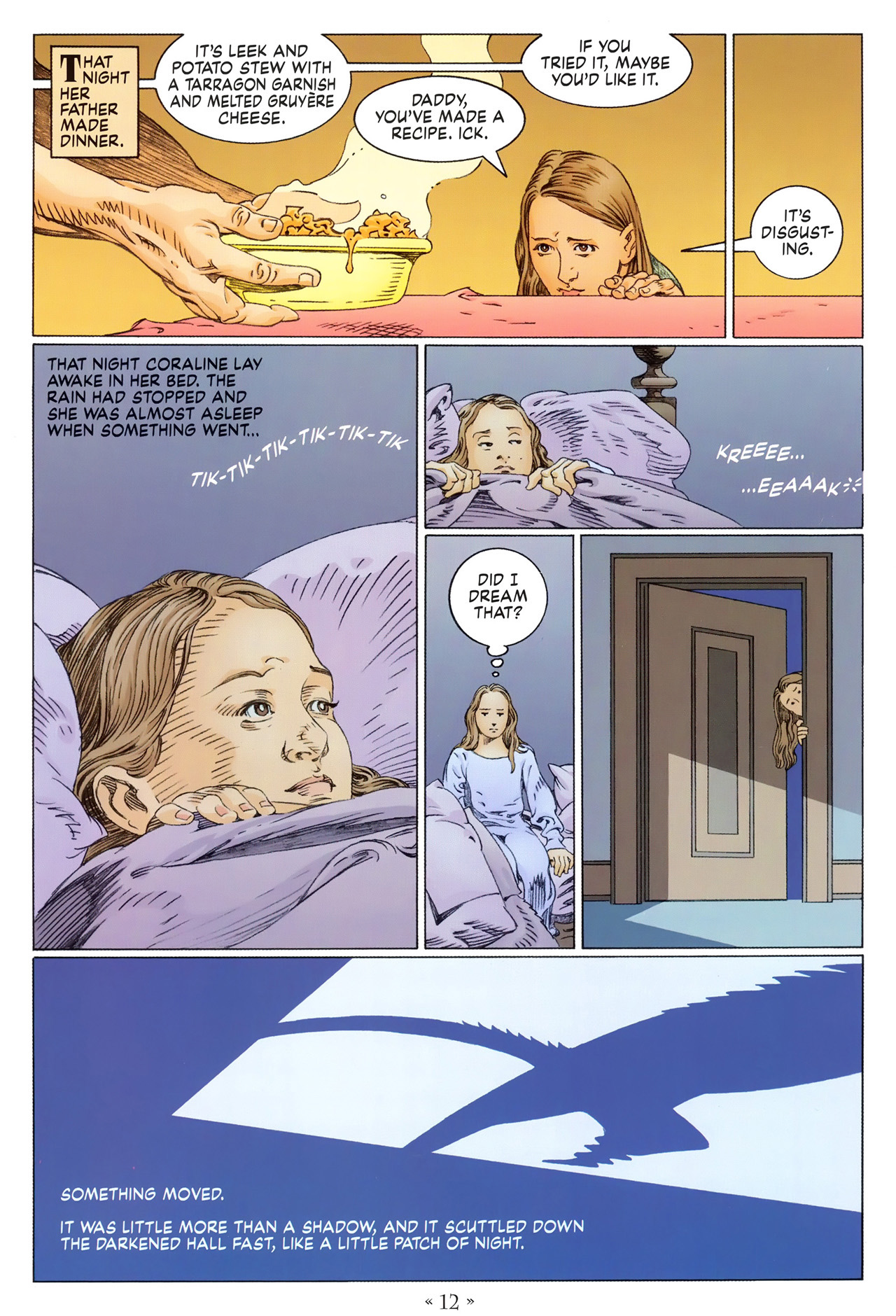 Read online Coraline comic -  Issue #1 - 18