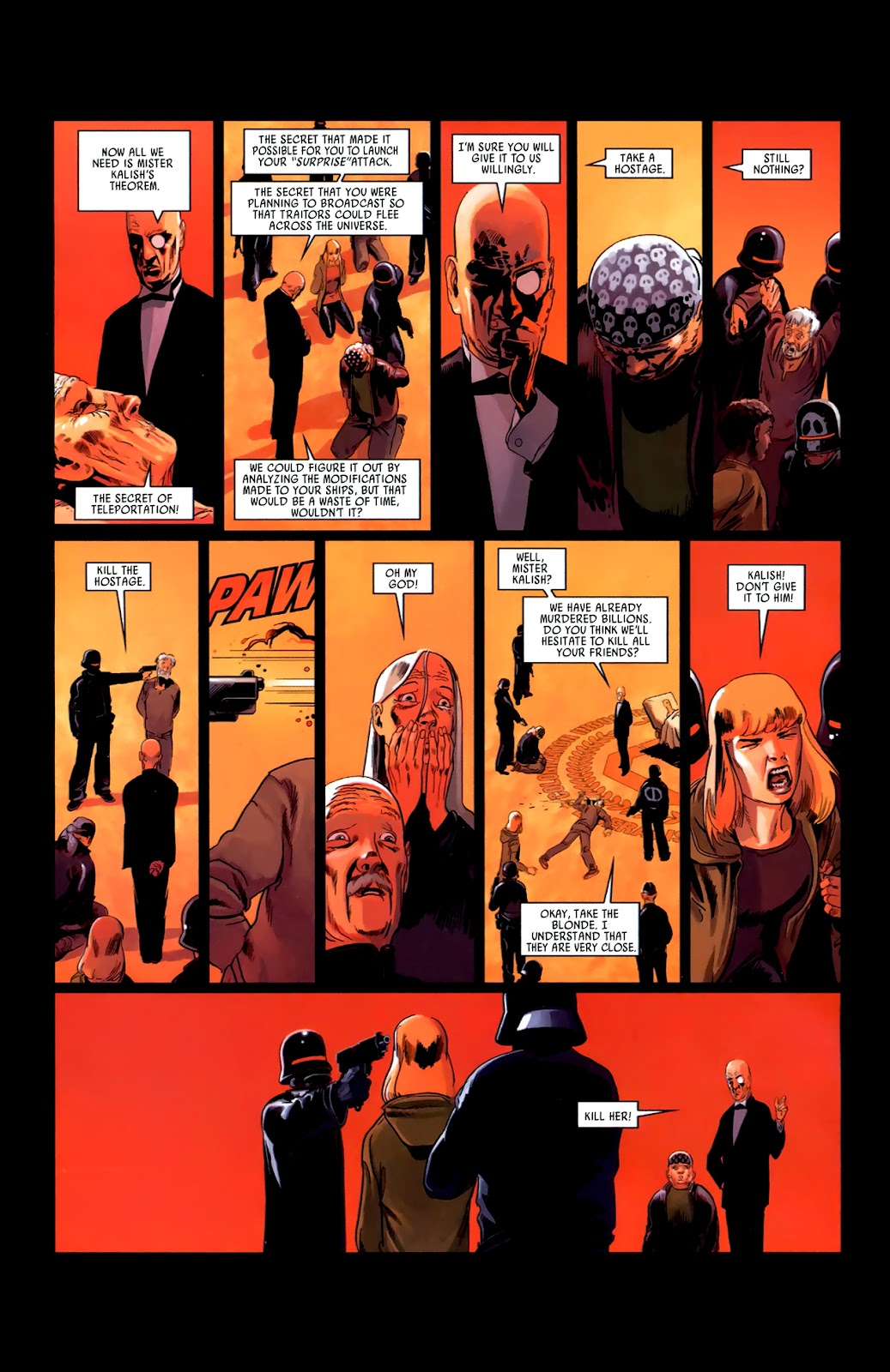 Read online Universal War One: Revelations comic -  Issue #3 - 42