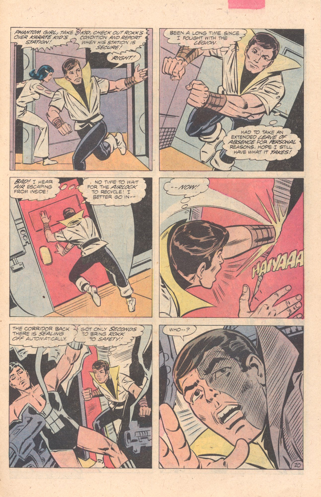 Legion of Super-Heroes (1980) 274 Page 20